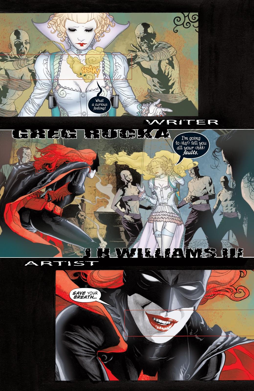 Read online Detective Comics (1937) comic -  Issue # _TPB Batwoman - Elegy (Part 1) - 28
