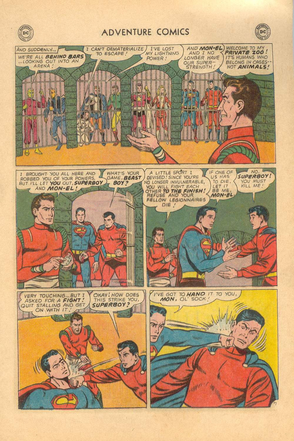 Read online Adventure Comics (1938) comic -  Issue #339 - 21