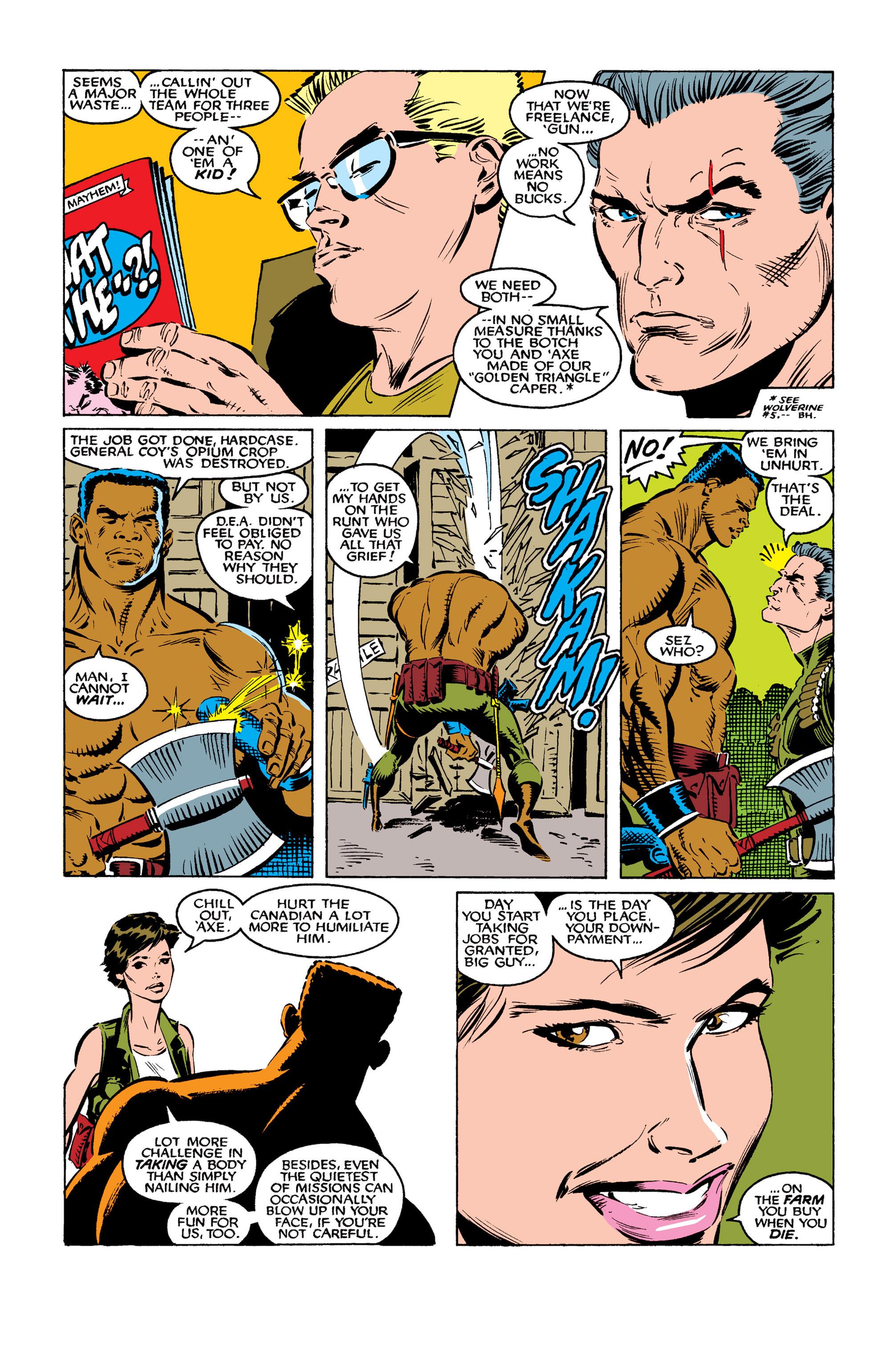 Read online Uncanny X-Men (1963) comic -  Issue #261 - 4