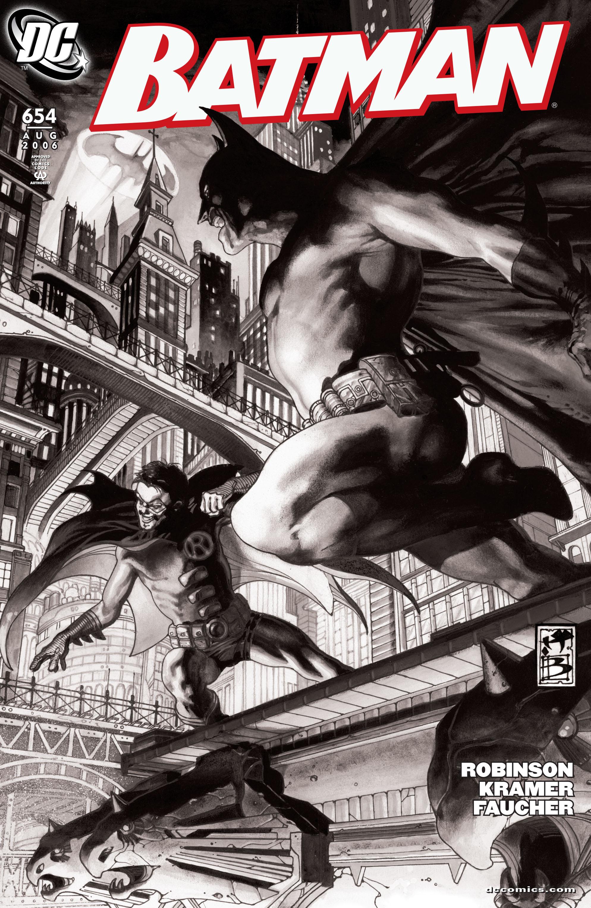 Batman (1940) 654 Page 1