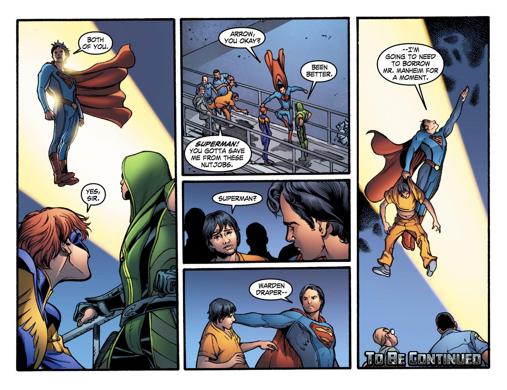 Read online Smallville: Season 11 comic -  Issue #16 - 21