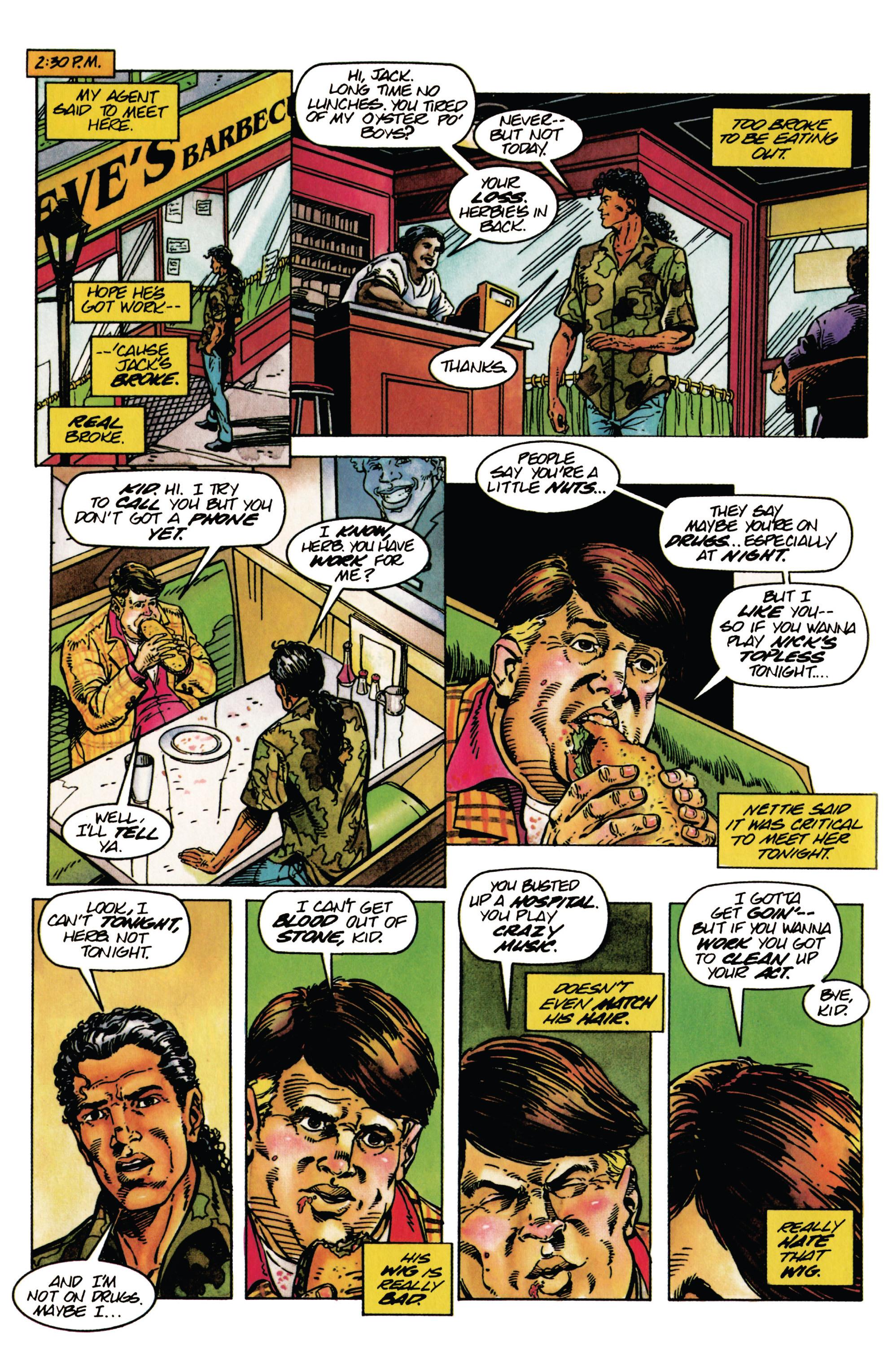 Read online Shadowman (1992) comic -  Issue #28 - 8
