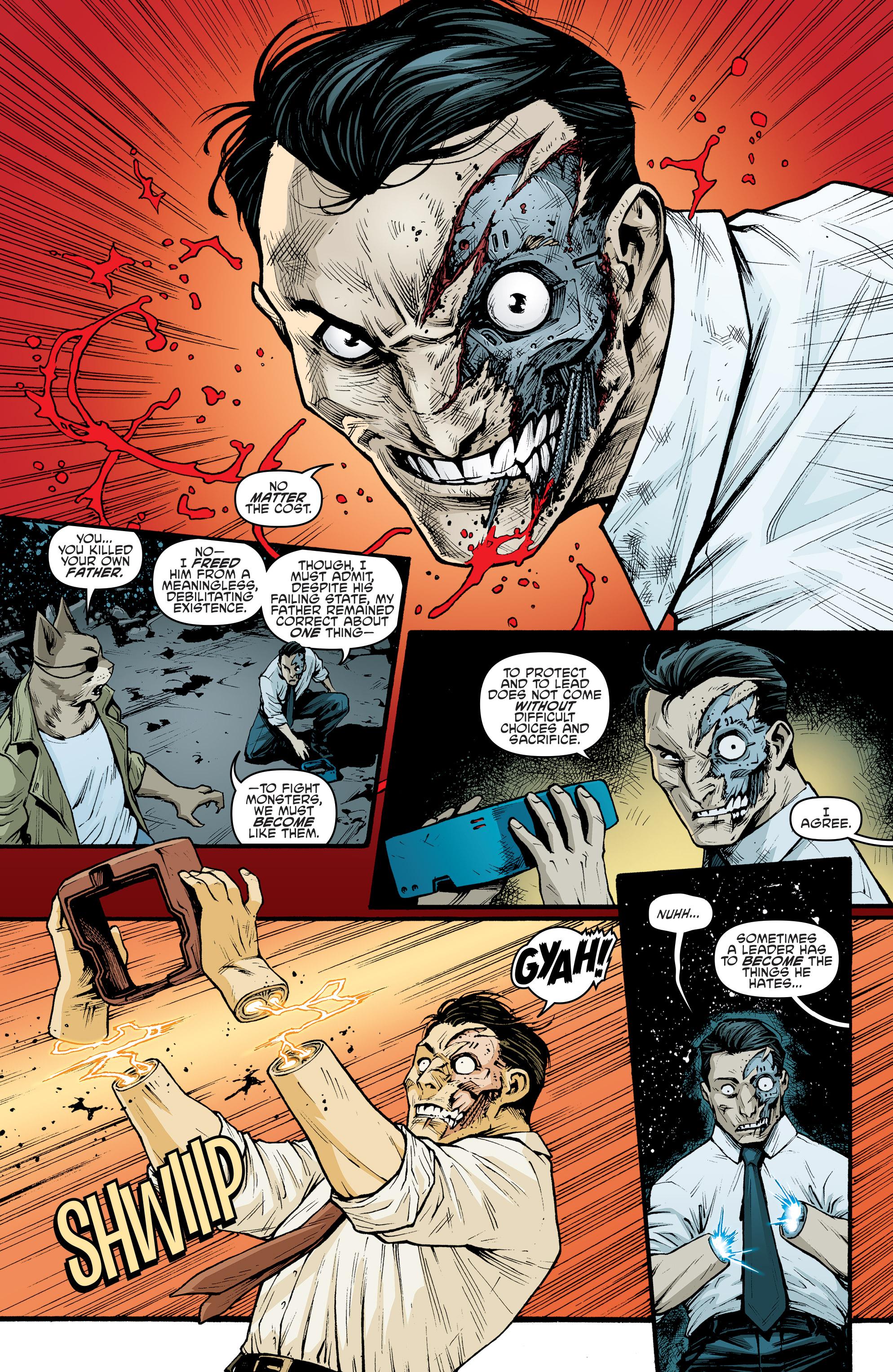 Read online Teenage Mutant Ninja Turtles (2011) comic -  Issue #70 - 19