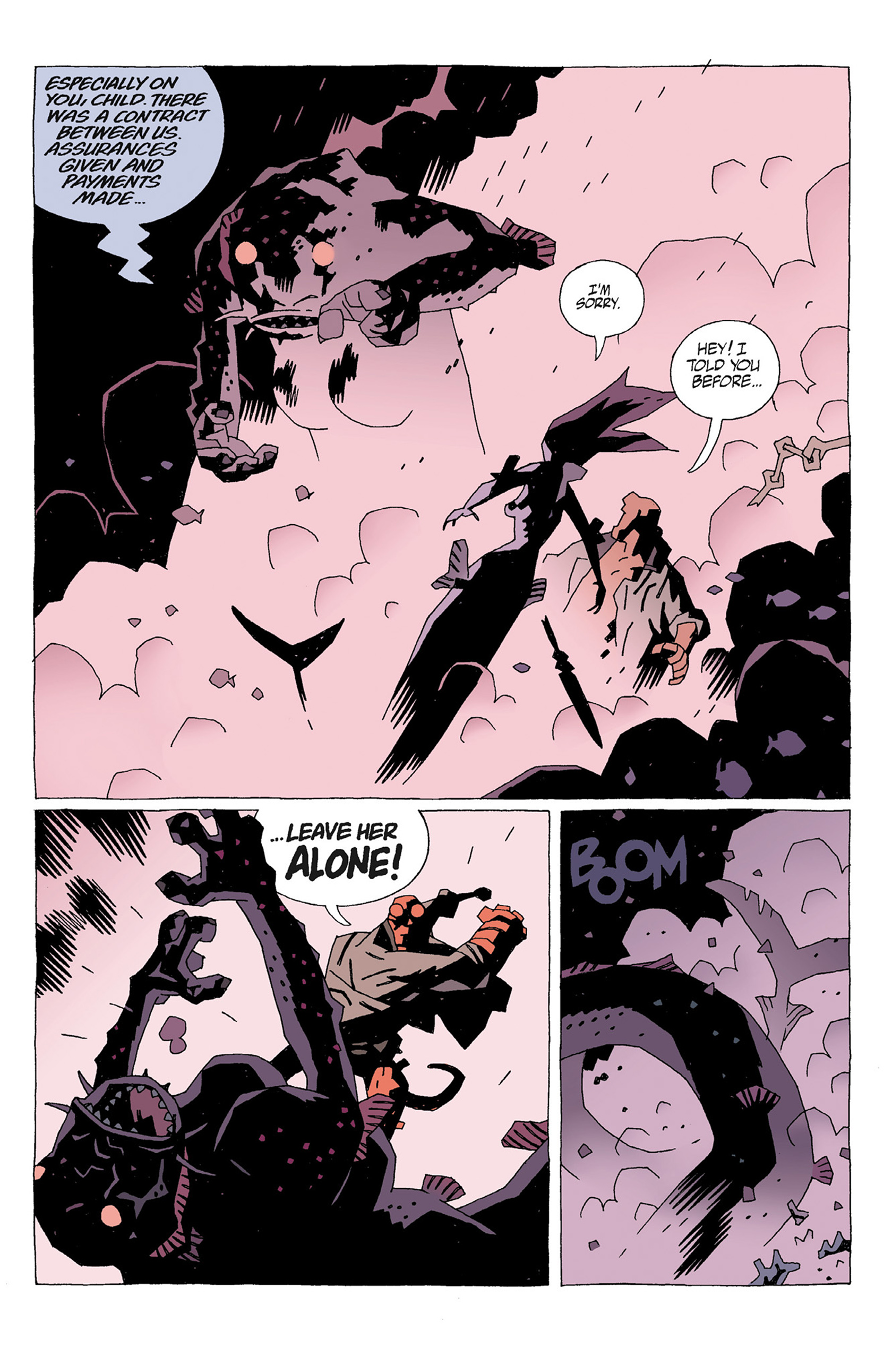 Read online Hellboy: Strange Places comic -  Issue # TPB - 51