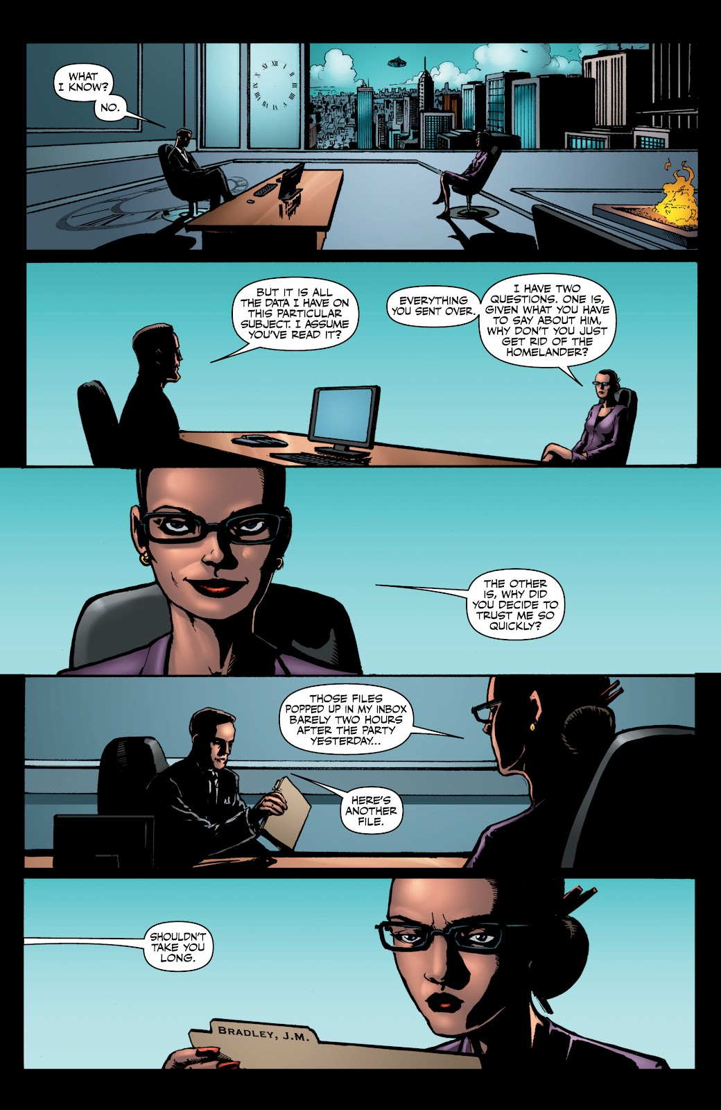 Read online The Boys Omnibus comic -  Issue # TPB 4 (Part 1) - 36