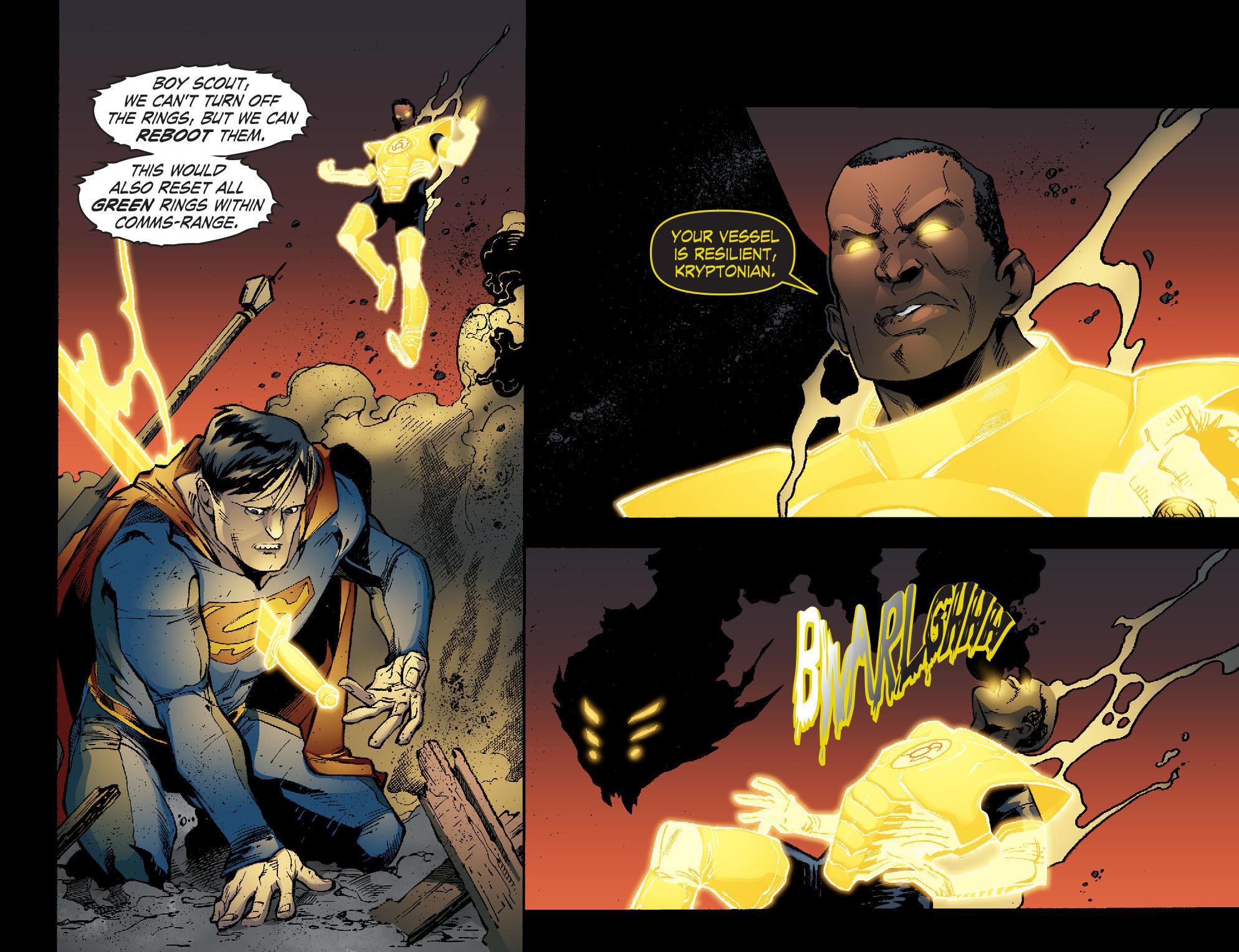 Read online Smallville: Lantern [I] comic -  Issue #11 - 17