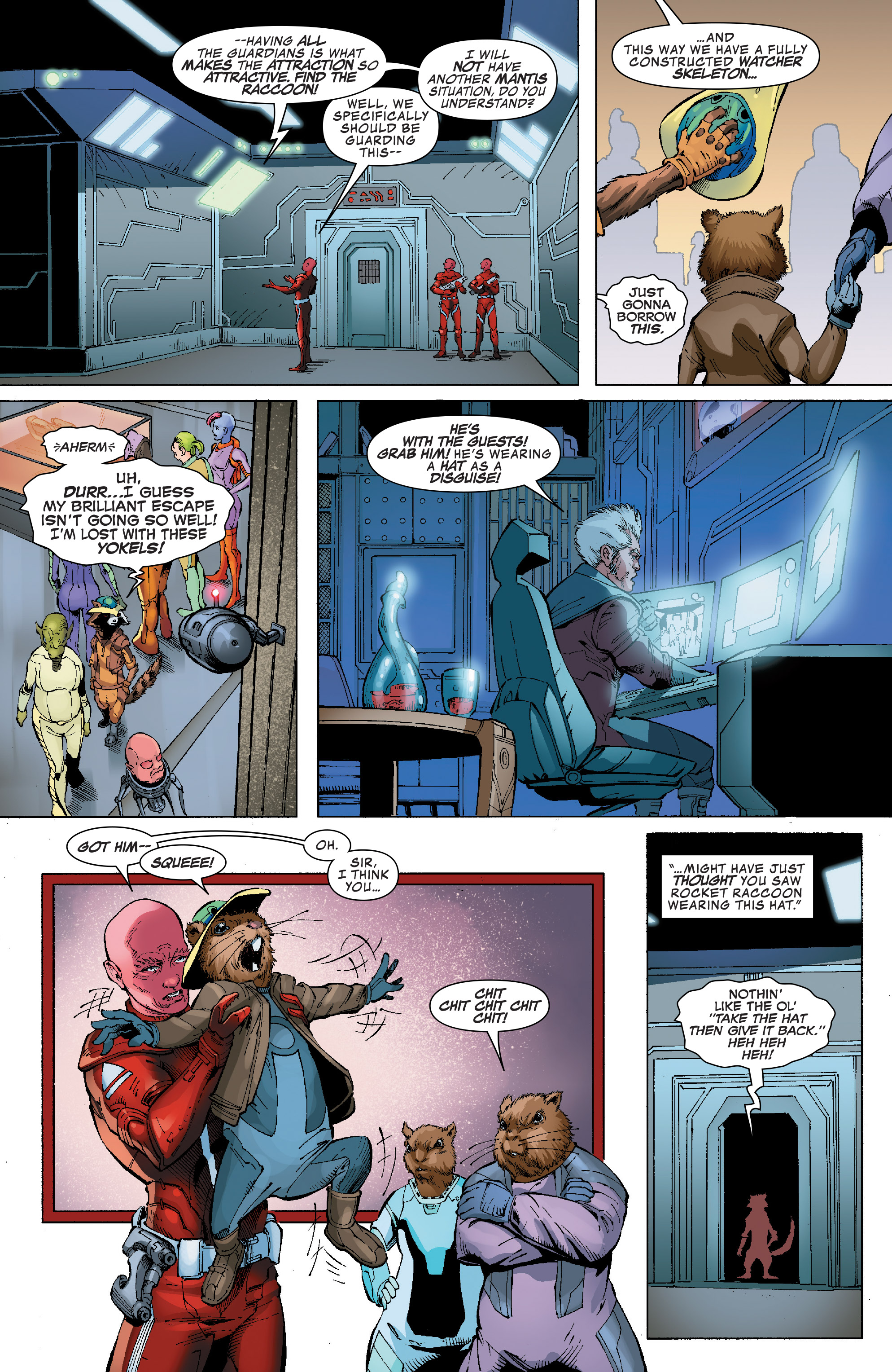 Read online Guardians of the Galaxy: Mission Breakout comic -  Issue # Full - 11