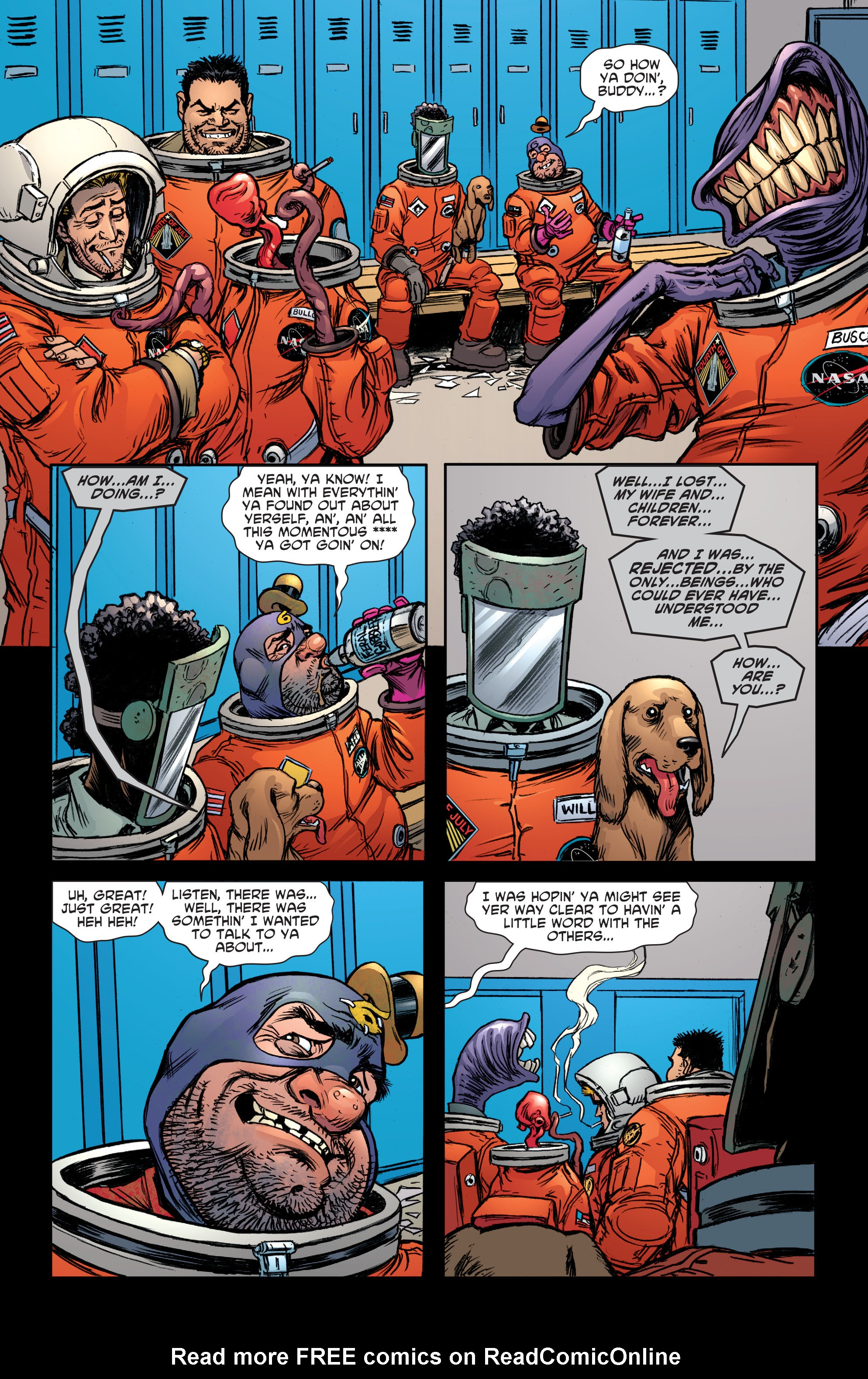 Read online Sixpack and Dogwelder: Hard Travelin' Heroz comic -  Issue #5 - 12