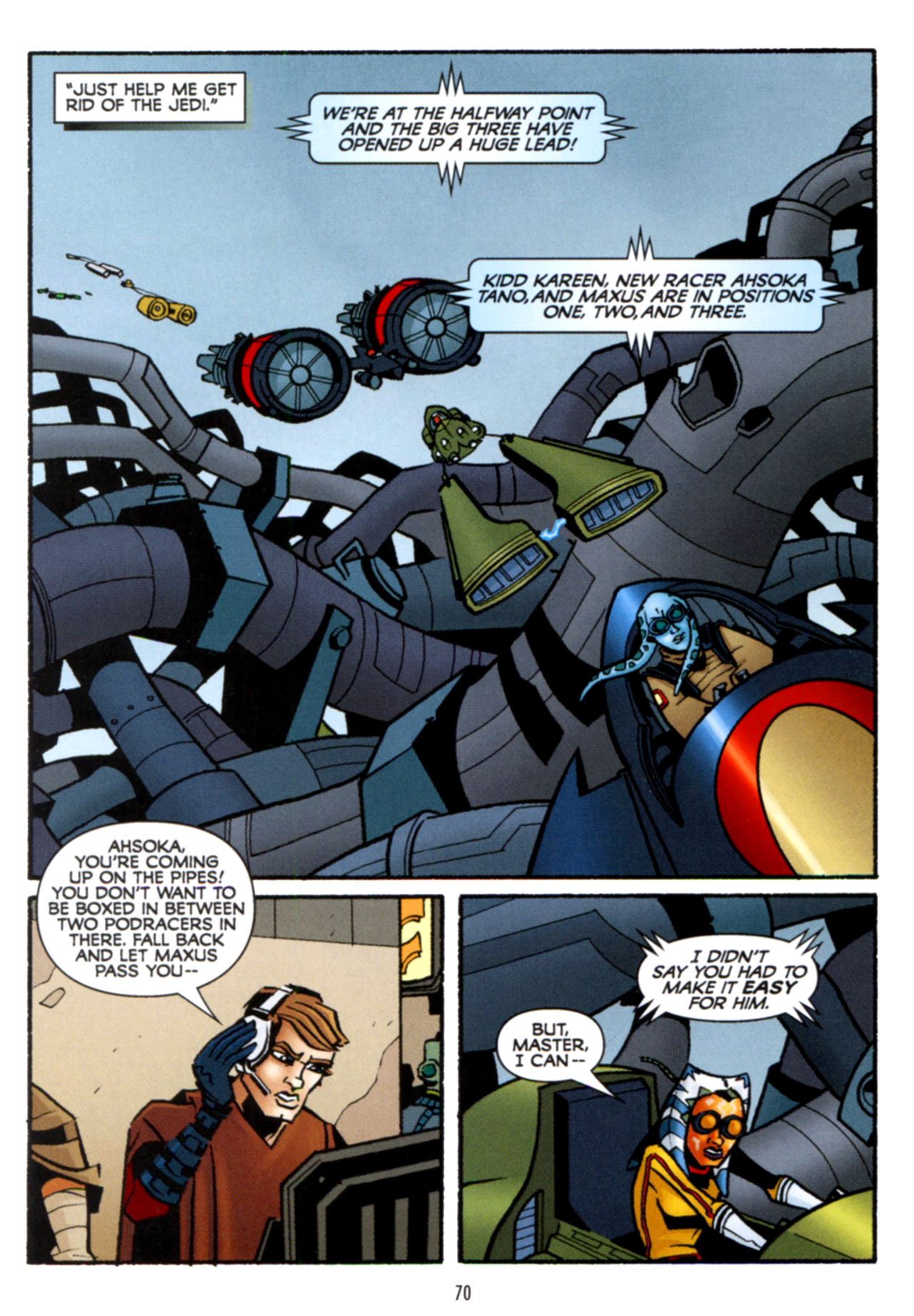 Read online Star Wars: The Clone Wars - Crash Course comic -  Issue # Full - 71