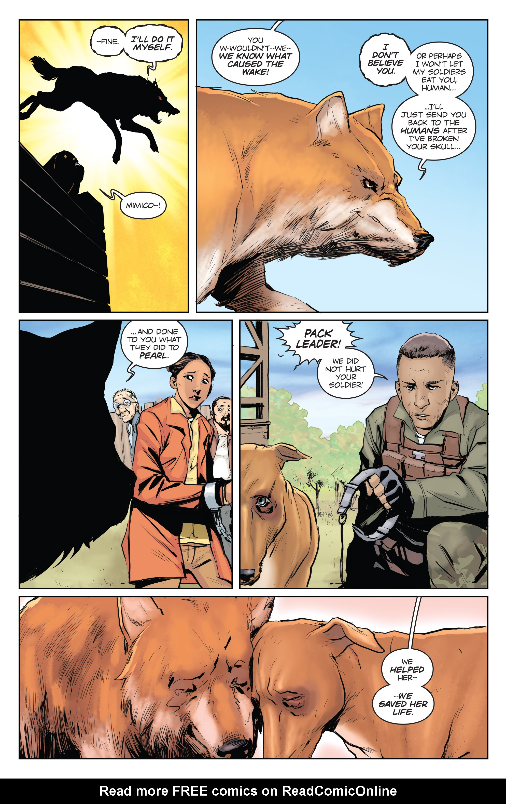 Read online Animosity comic -  Issue #4 - 8