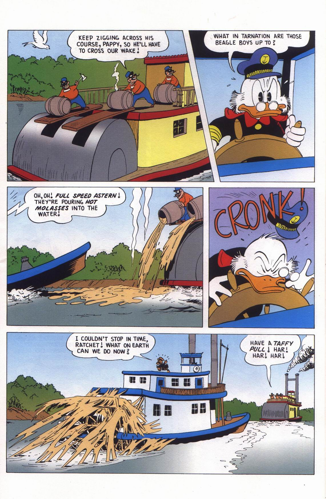Read online Uncle Scrooge (1953) comic -  Issue #313 - 57