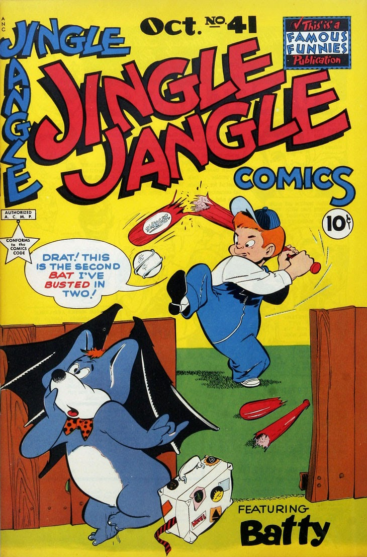Jingle Jangle Comics issue 41 - Page 1