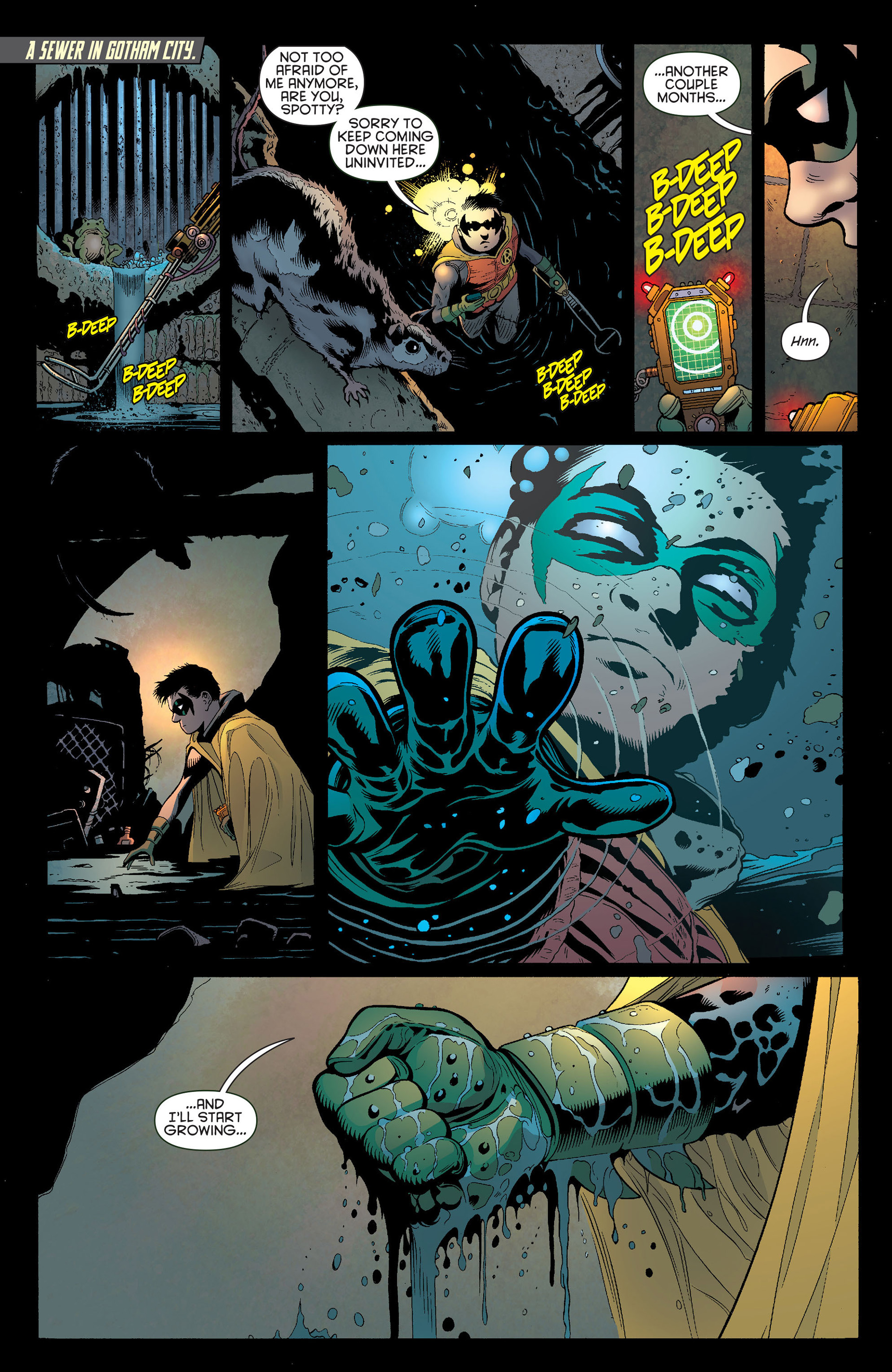 Read online Batman and Robin (2011) comic -  Issue #13 - 13