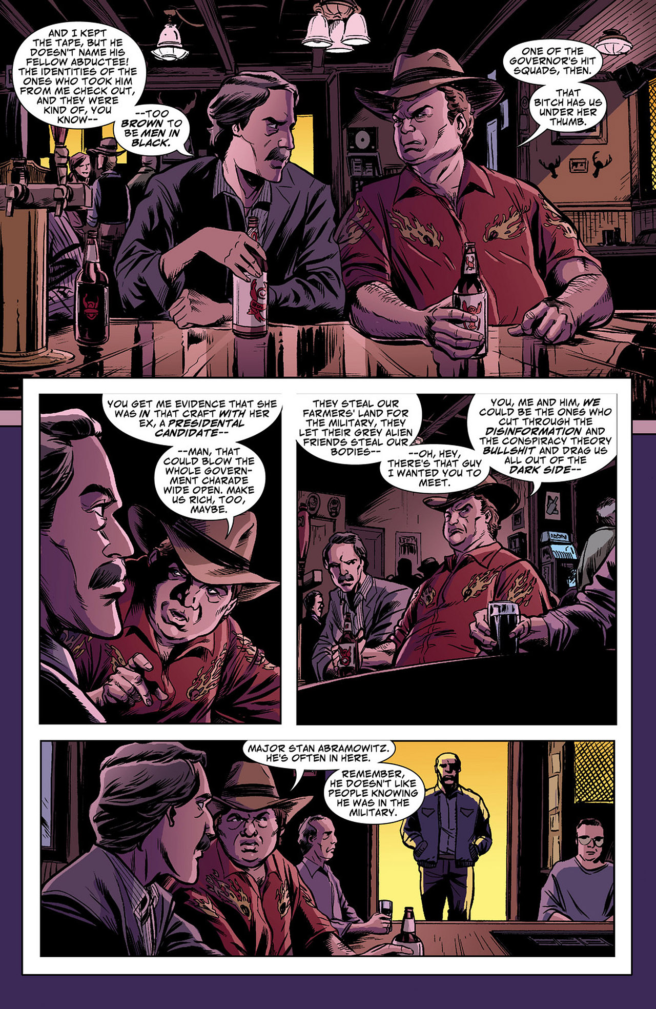 Read online Saucer Country comic -  Issue #4 - 17