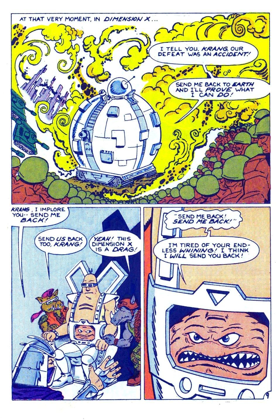 Comic Teenage Mutant Ninja Turtles Adventures (1989) issue 12