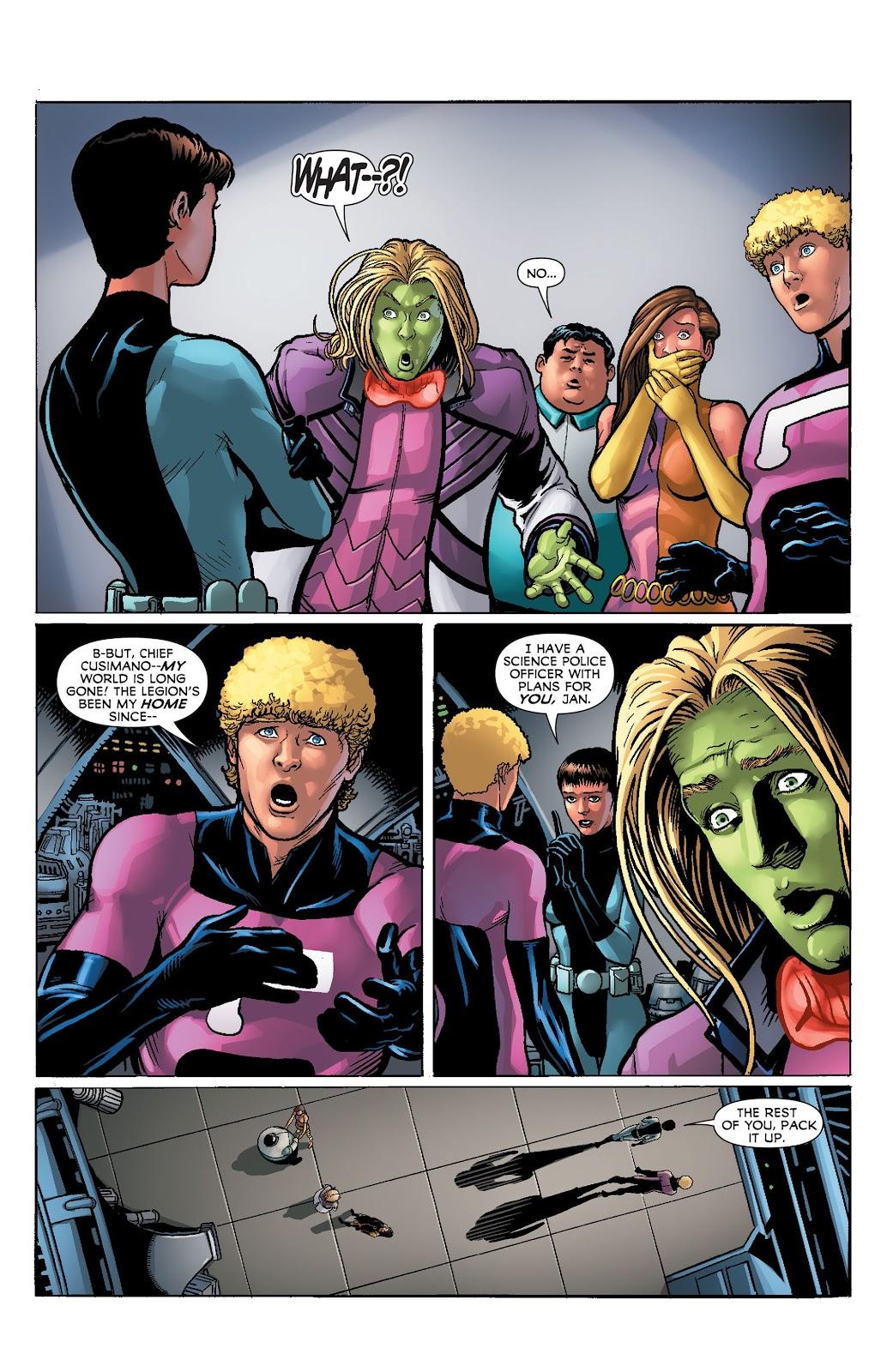 Legion of Super-Heroes (2011) Issue #23 #24 - English 13