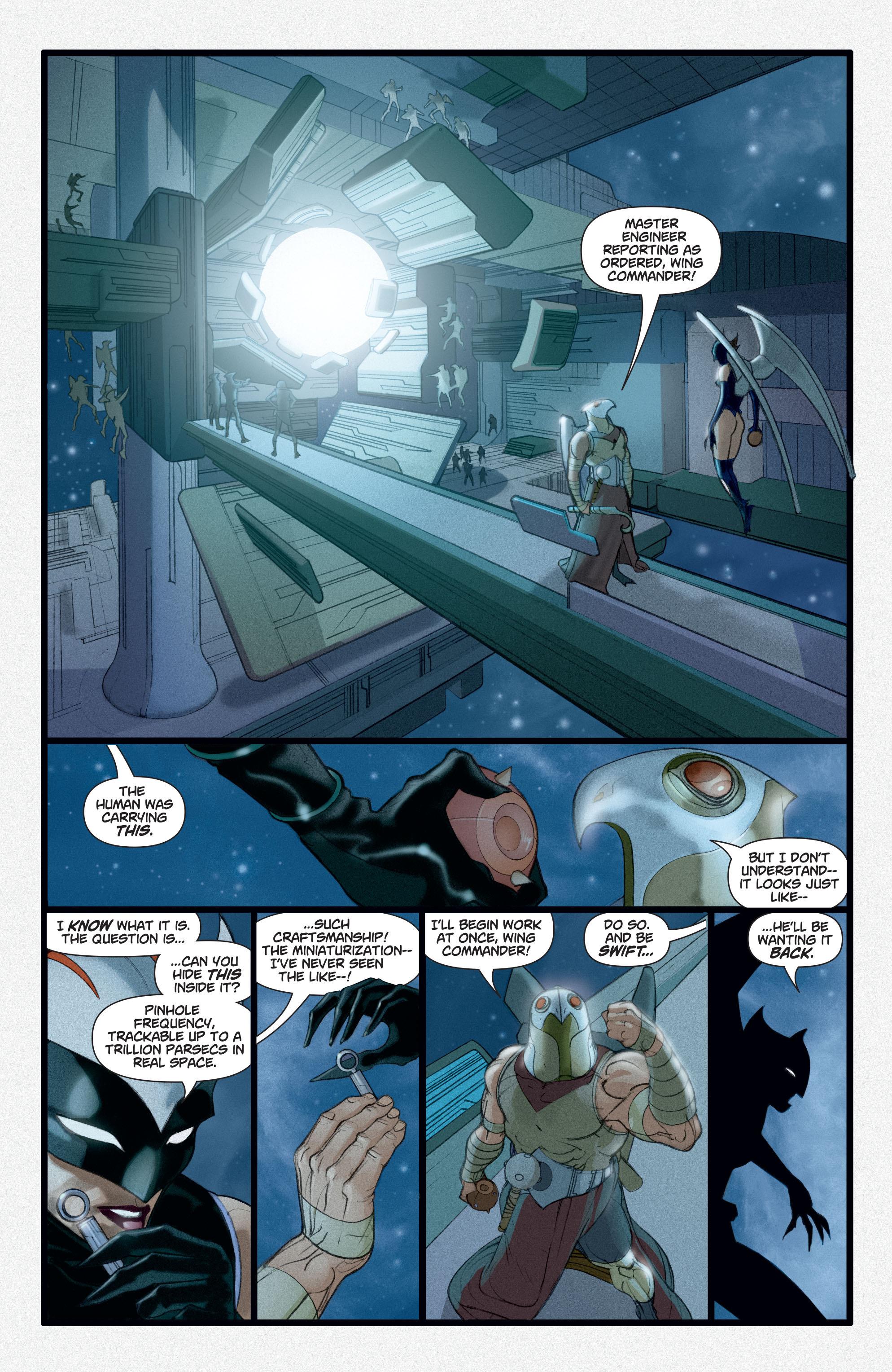 Read online Adam Strange (2004) comic -  Issue #3 - 9