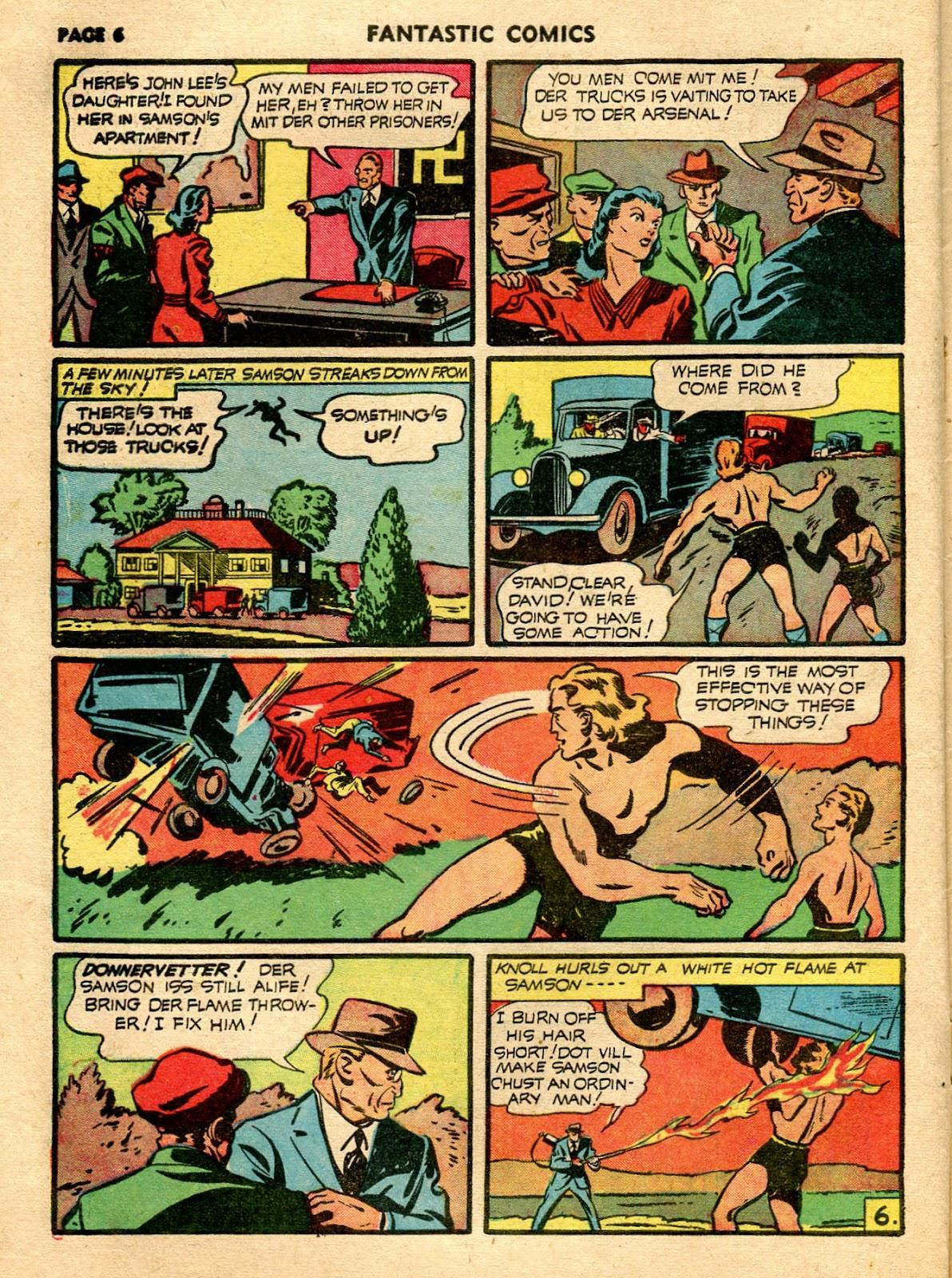 Read online Fantastic Comics comic -  Issue #21 - 8