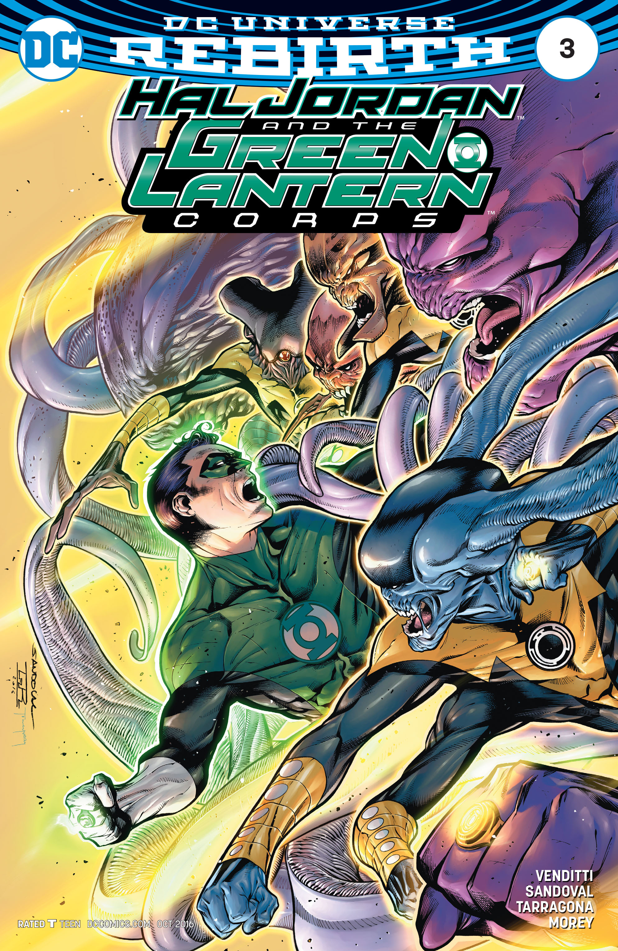 Hal Jordan And The Green Lantern Corps 3 Page 1