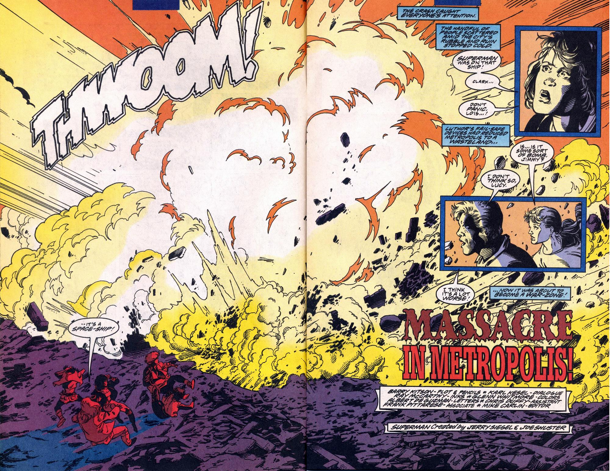 Read online Adventures of Superman (1987) comic -  Issue #515 - 3