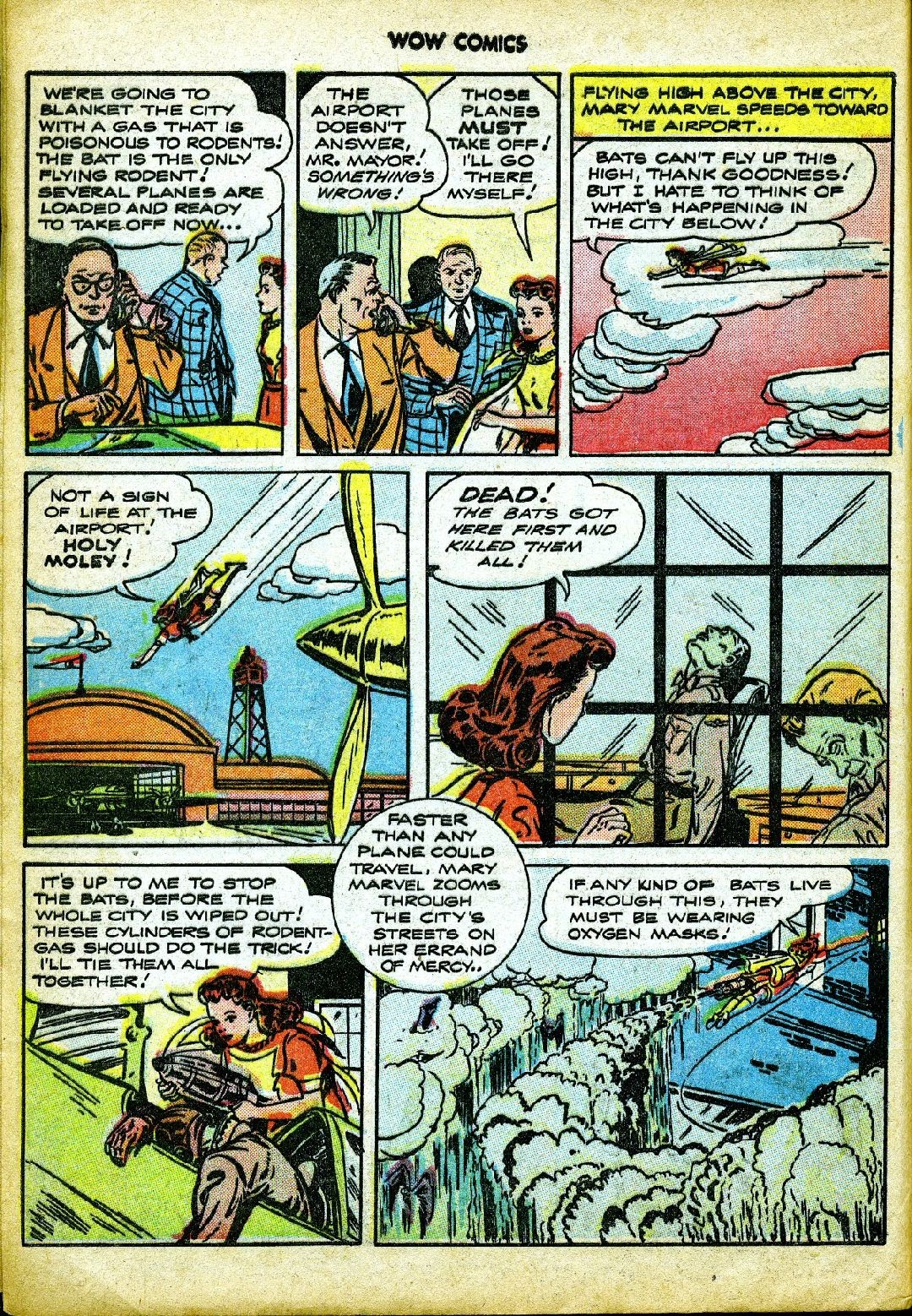 Wow Comics issue 57 - Page 8