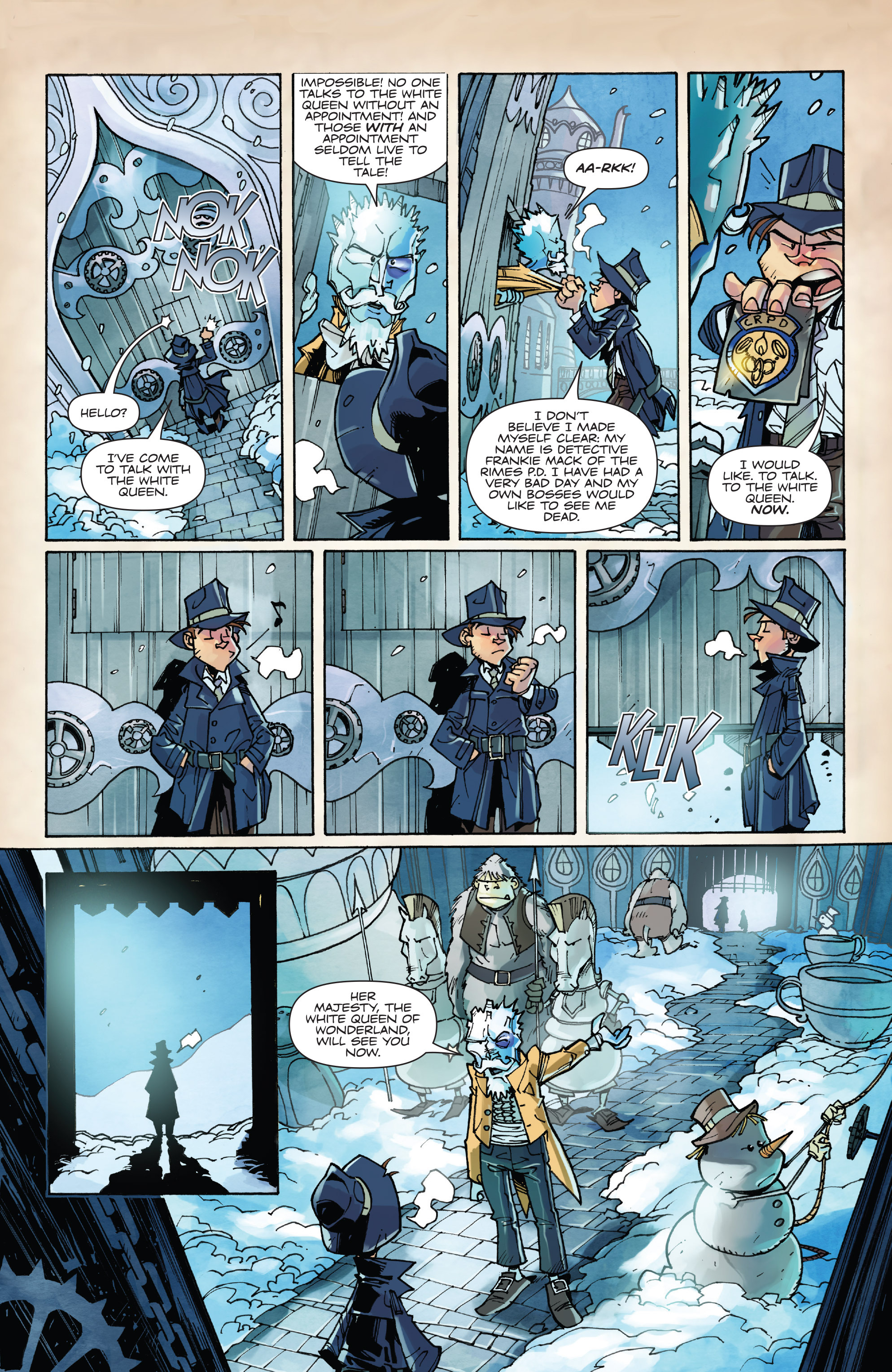 Read online Fiction Squad comic -  Issue #3 - 8