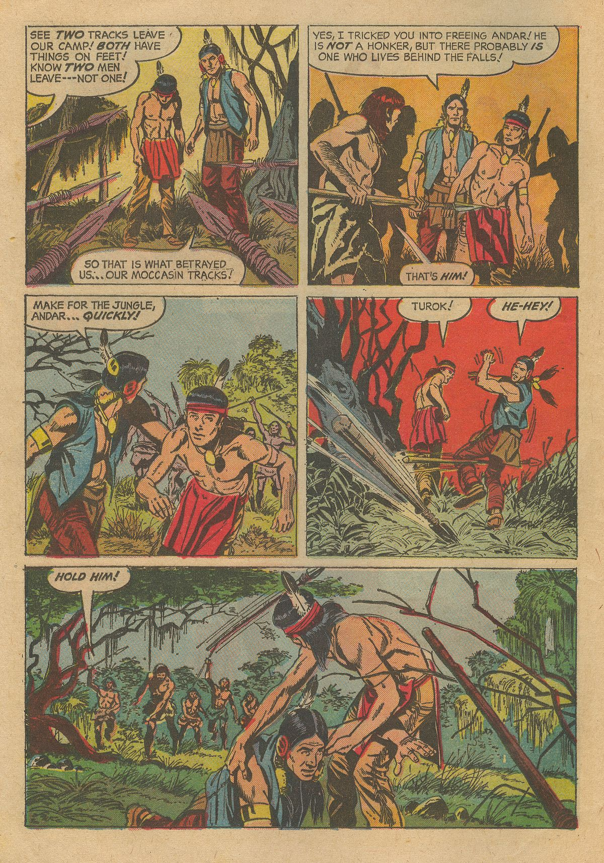 Read online Turok, Son of Stone comic -  Issue #54 - 12