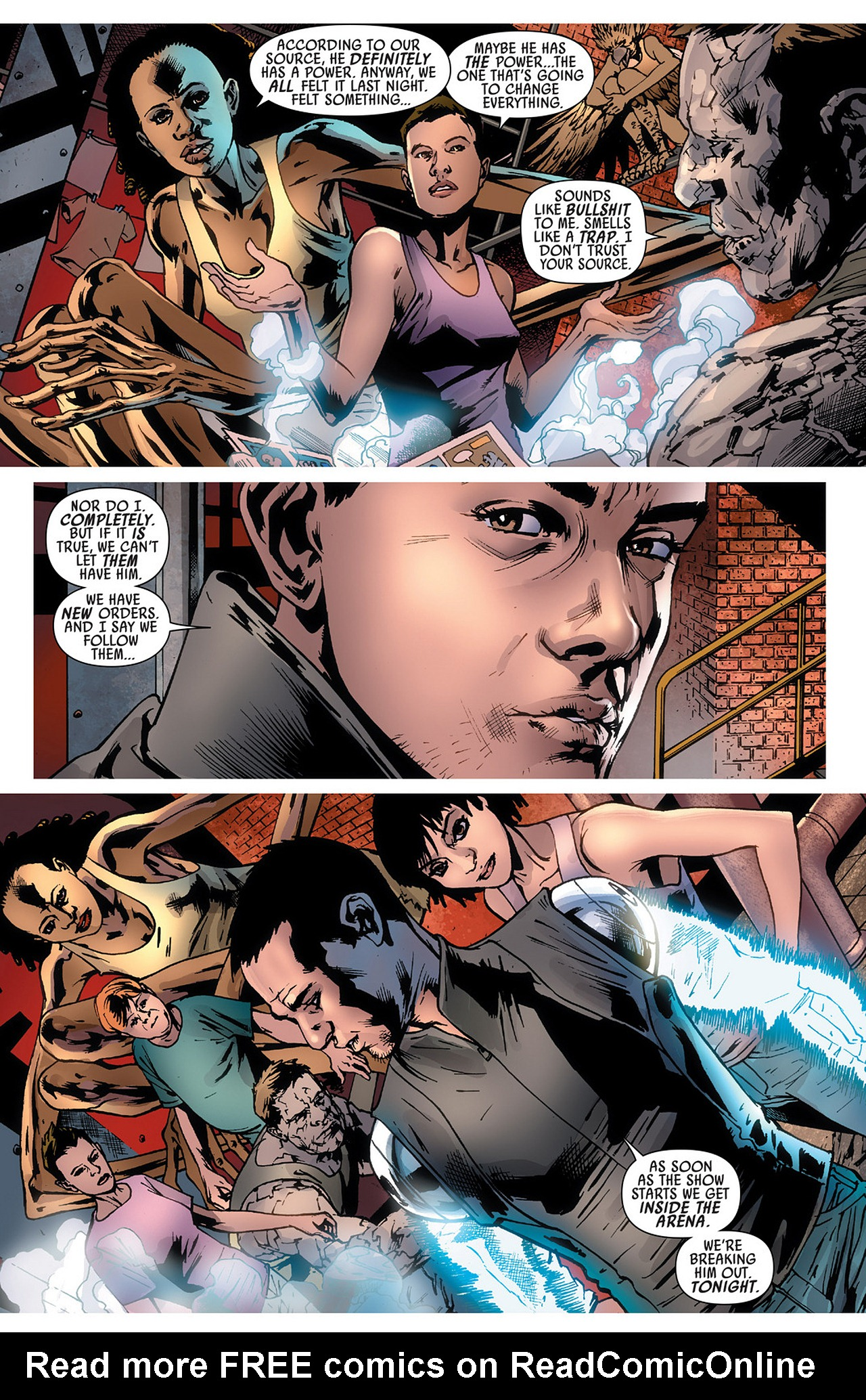 Read online America's Got Powers comic -  Issue #3 - 14