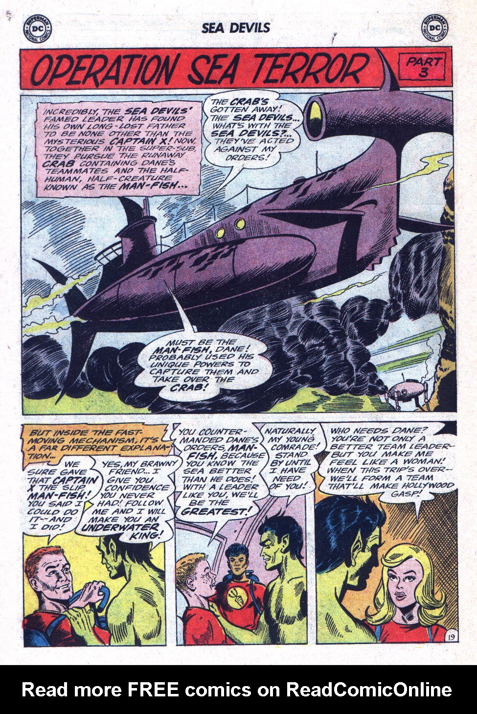 Read online Sea Devils comic -  Issue #22 - 26