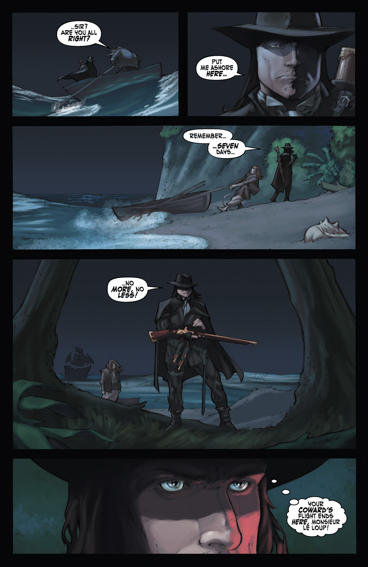 Read online Solomon Kane: Red Shadows comic -  Issue #3 - 7
