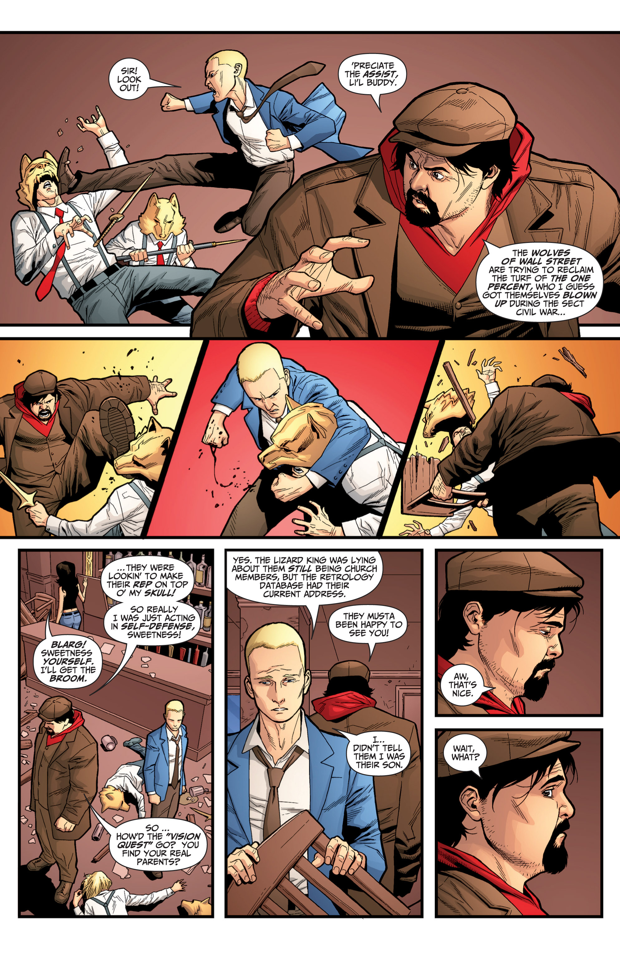 Read online Archer and Armstrong comic -  Issue #Archer and Armstrong _TPB 6 - 101