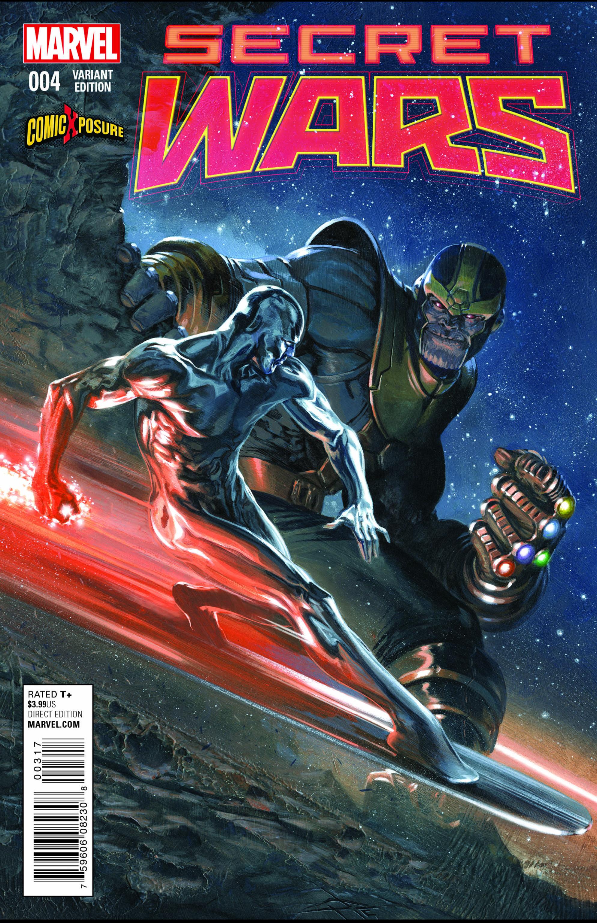 Read online Secret Wars comic -  Issue #4 - 5