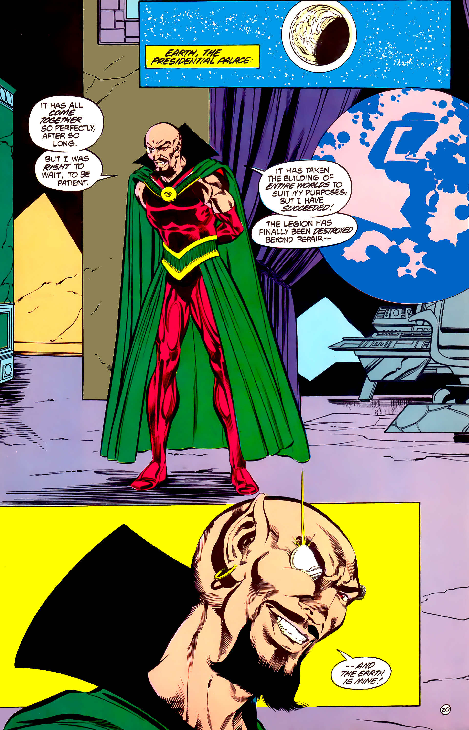 Legion of Super-Heroes (1984) 32 Page 19