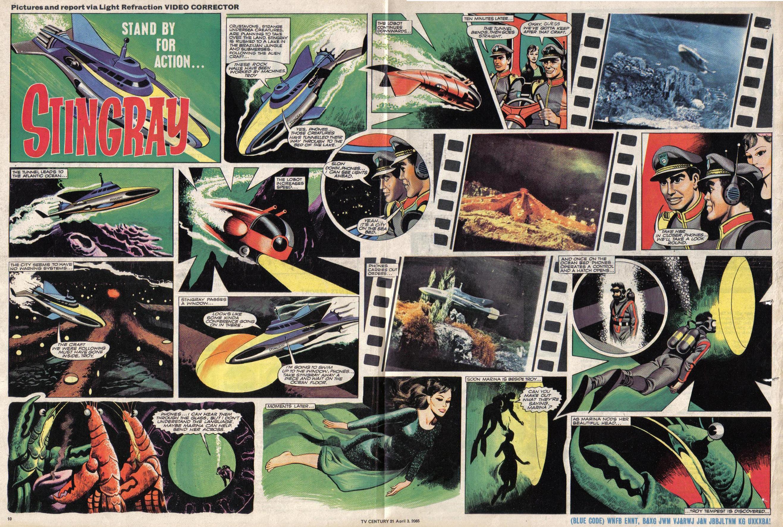 Read online TV Century 21 (TV 21) comic -  Issue #11 - 10