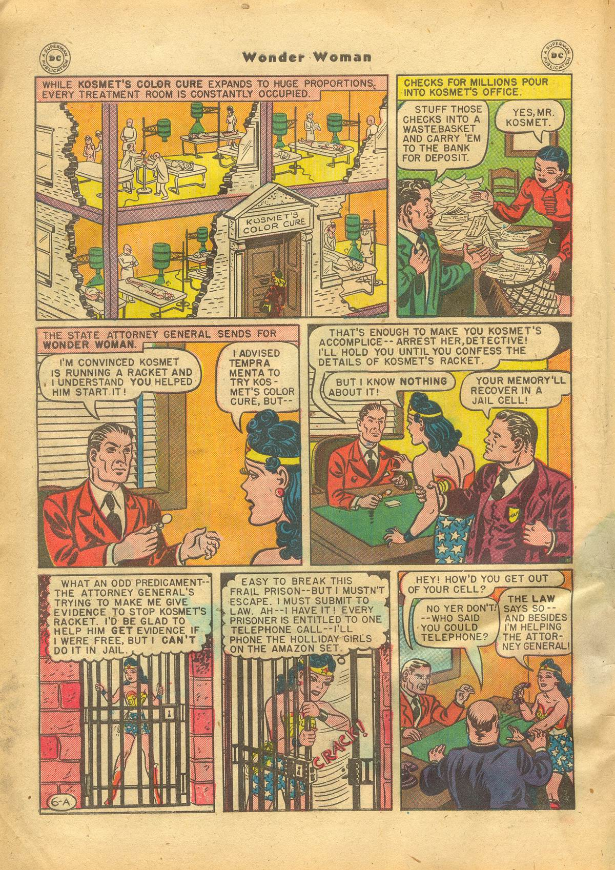 Read online Wonder Woman (1942) comic -  Issue #22 - 8