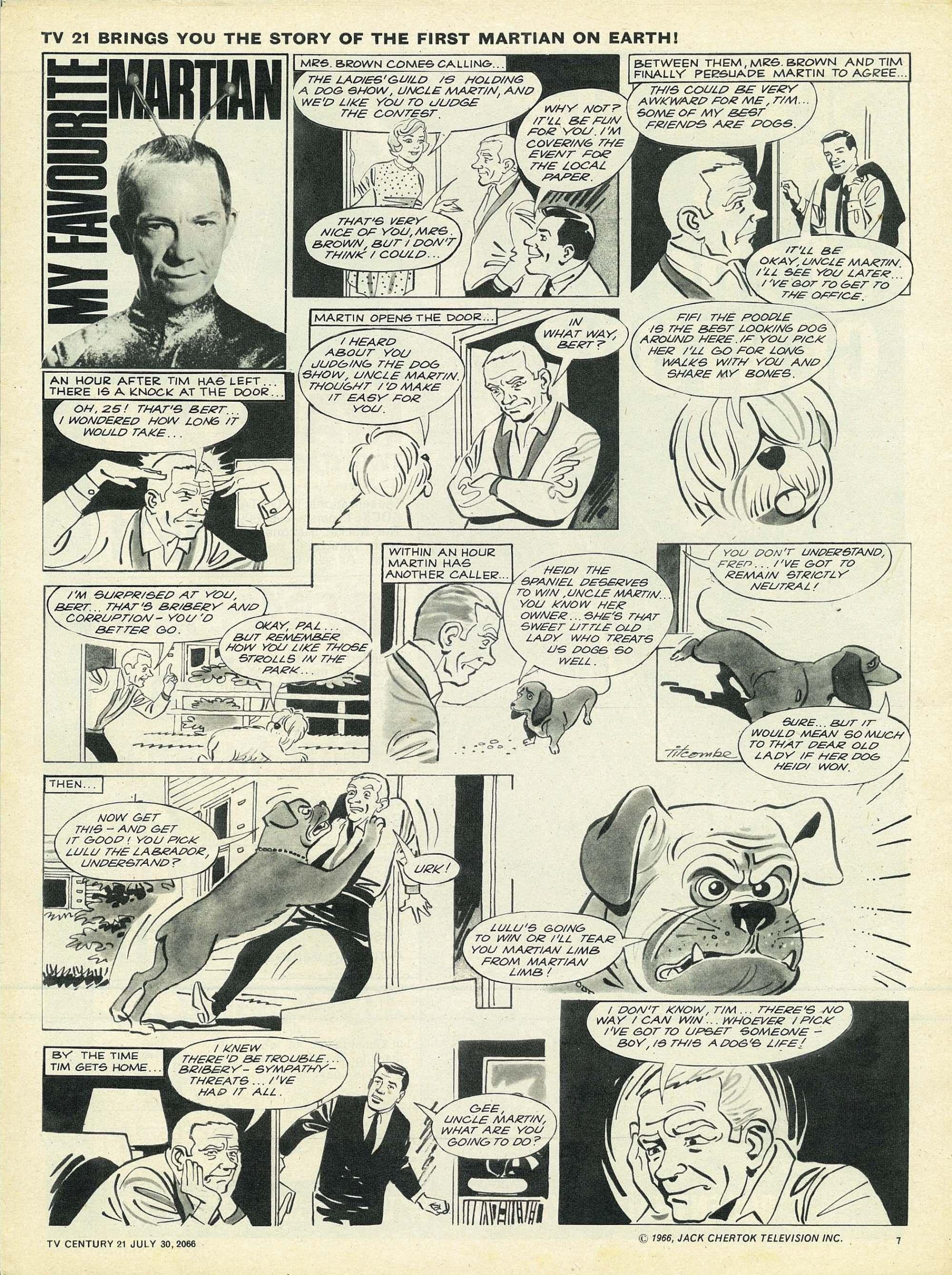 Read online TV Century 21 (TV 21) comic -  Issue #80 - 7