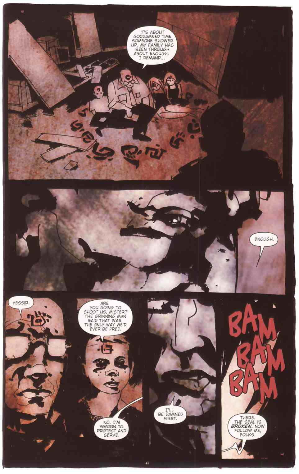 Read online Silent Hill: The Grinning Man comic -  Issue # Full - 42