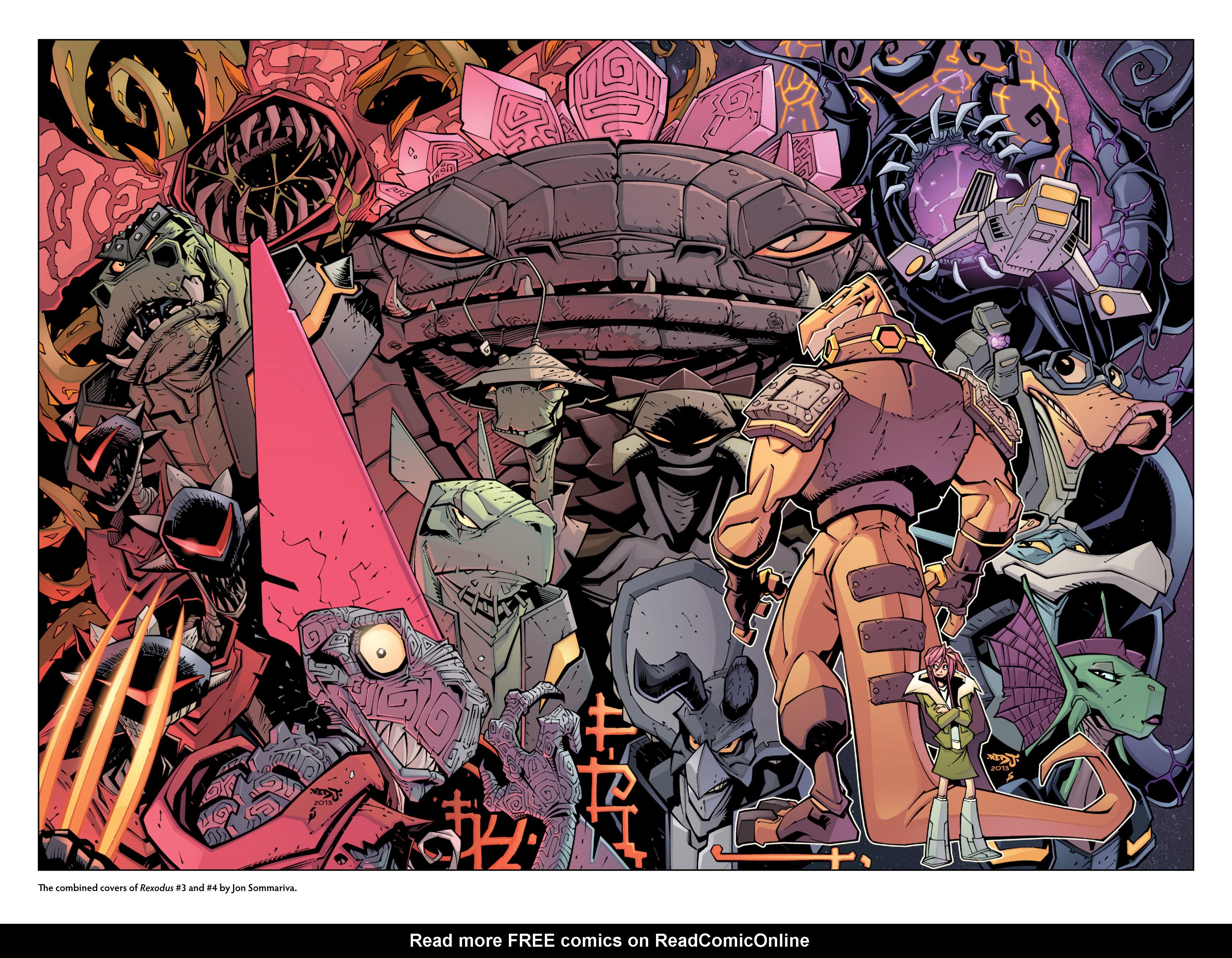 Read online Rexodus comic -  Issue # Full - 118