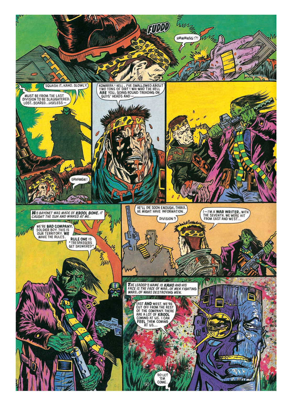 Read online The Complete Bad Company comic -  Issue # TPB - 250