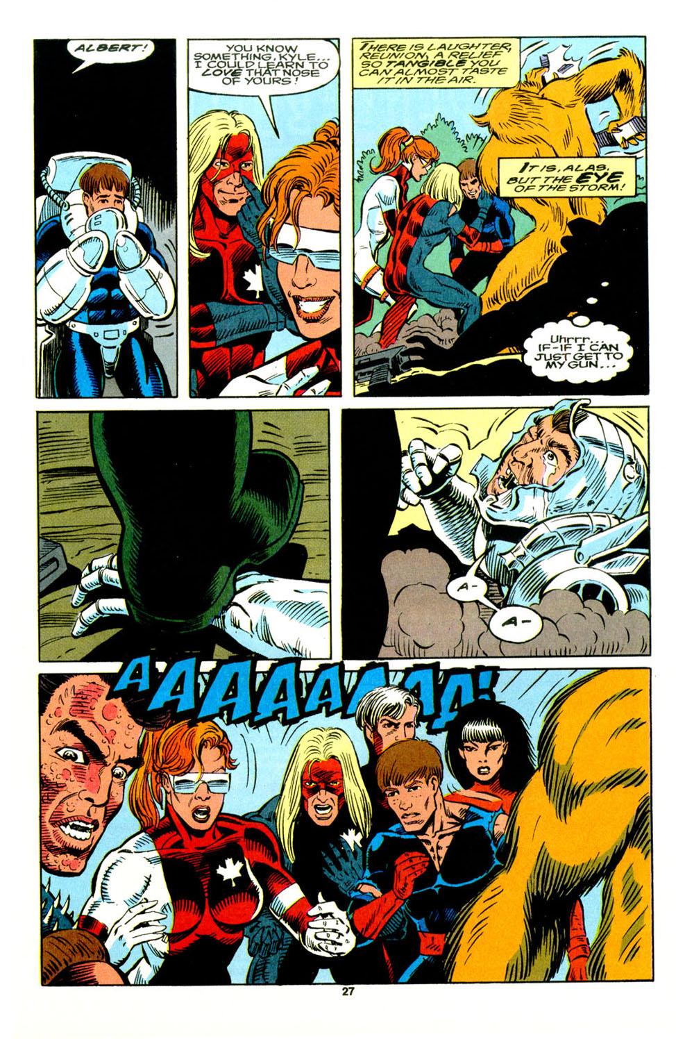 Read online Alpha Flight (1983) comic -  Issue #129 - 21