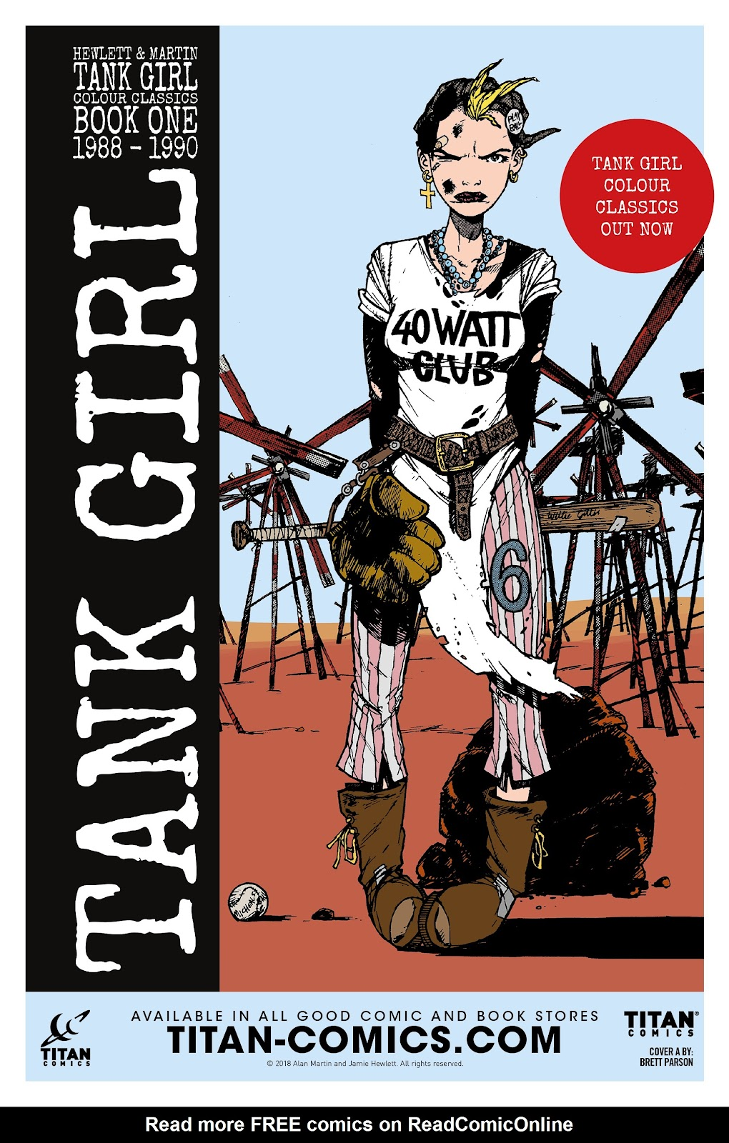 Read online Tank Girl Ongoing comic -  Issue #1 - 28