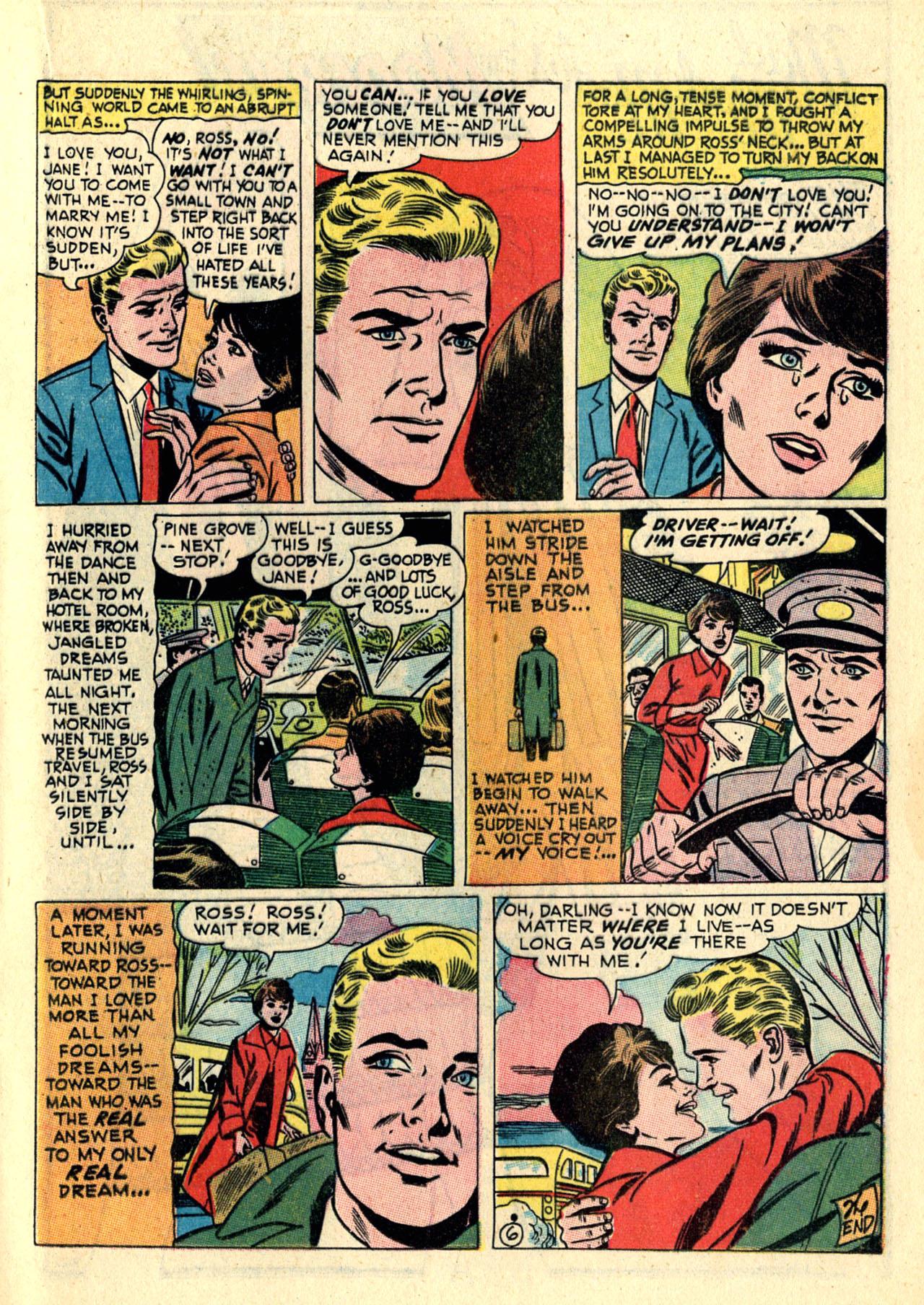 Read online Secret Hearts comic -  Issue #121 - 17