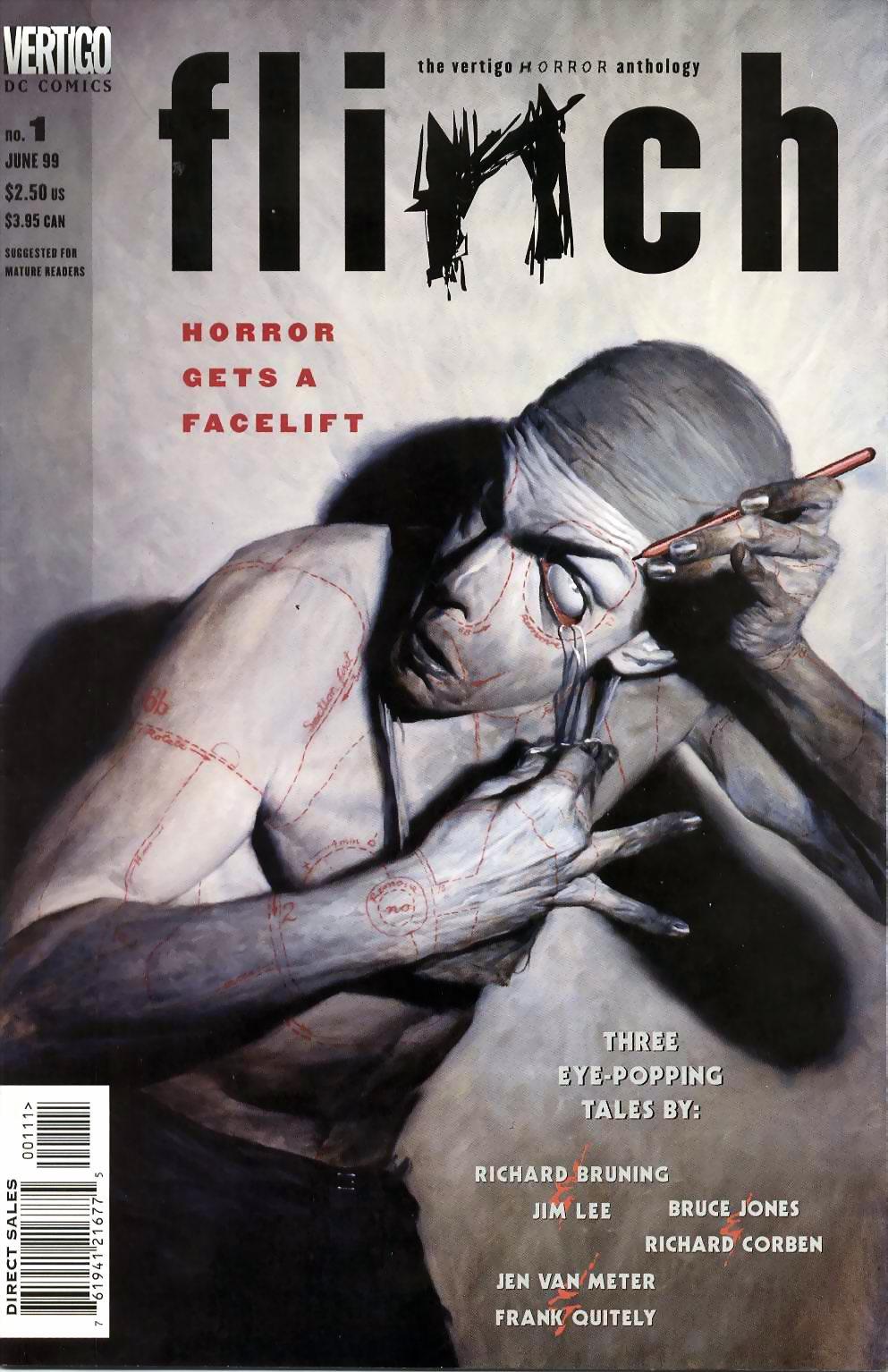 Read online Flinch comic -  Issue #1 - 1