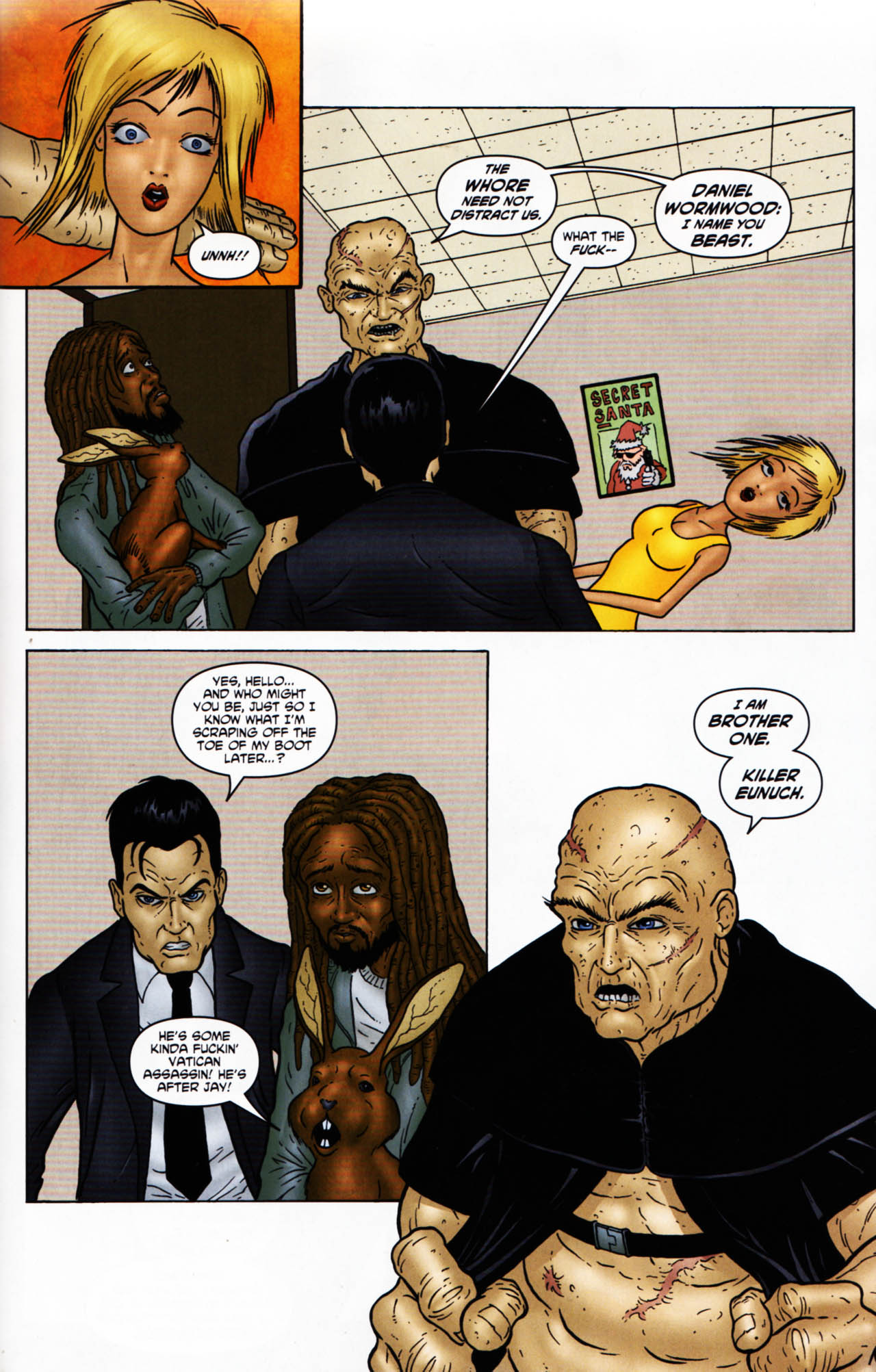 Read online Chronicles of Wormwood: The Last Enemy comic -  Issue # Full - 29