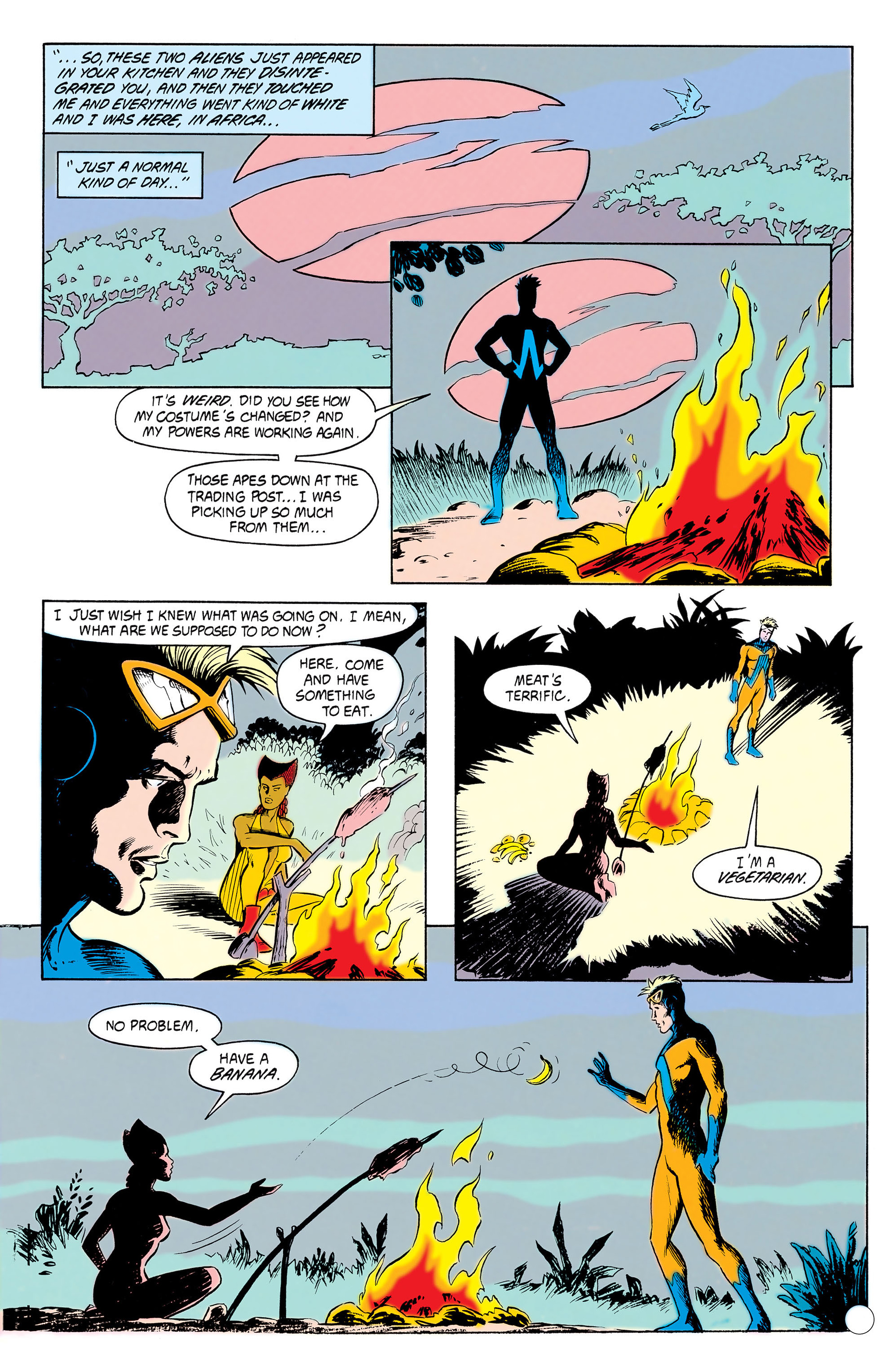 Read online Animal Man (1988) comic -  Issue #11 - 12