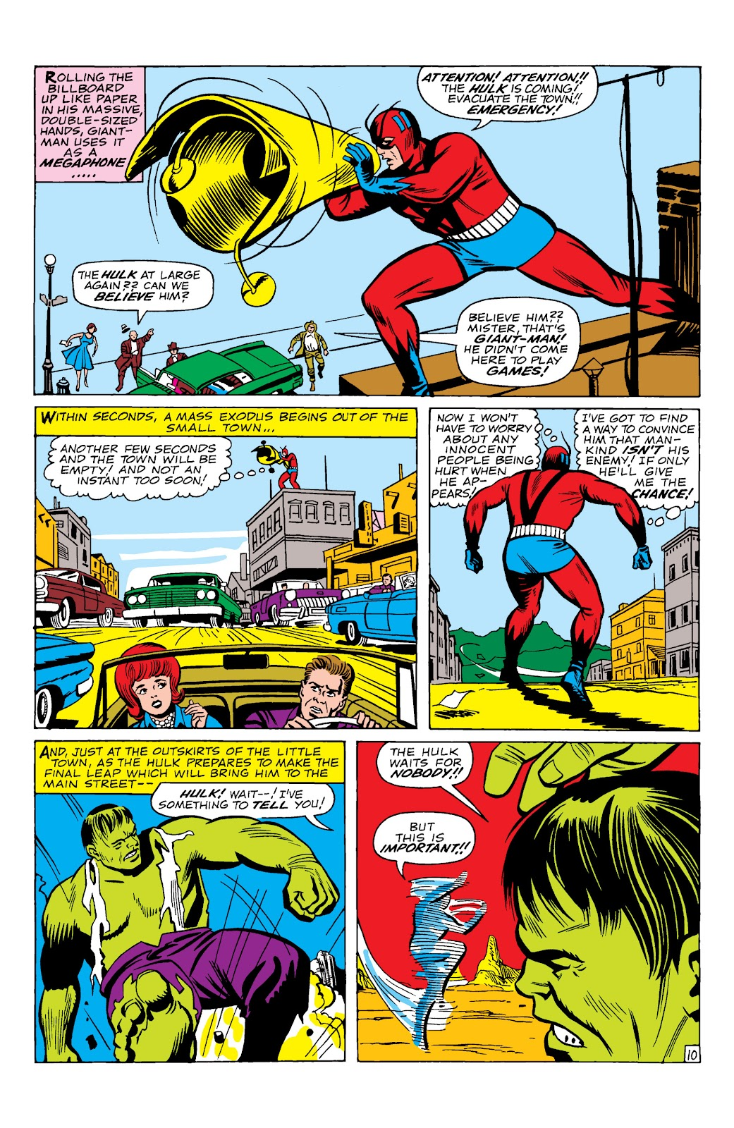 Read online Marvel Masterworks: The Incredible Hulk comic -  Issue # TPB 2 (Part 1) - 13