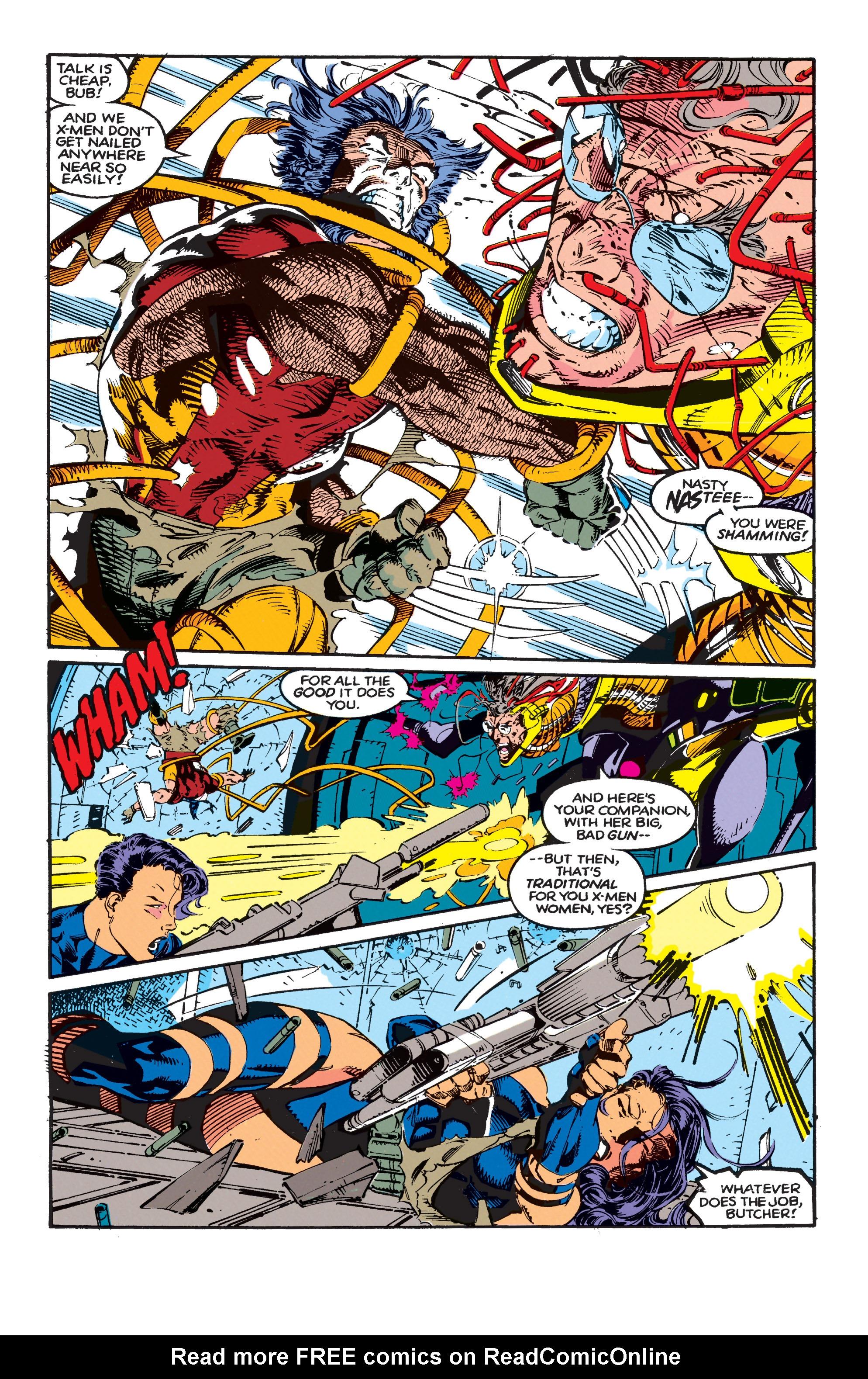 Read online Uncanny X-Men (1963) comic -  Issue #271 - 21
