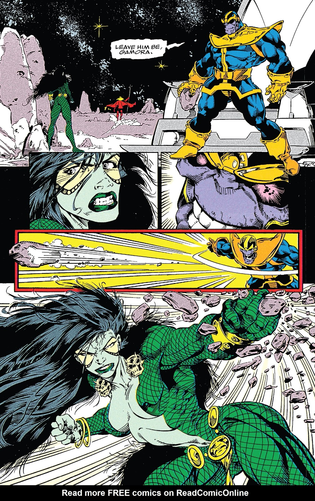 Read online Marvel Tales: Thanos comic -  Issue # Full - 60