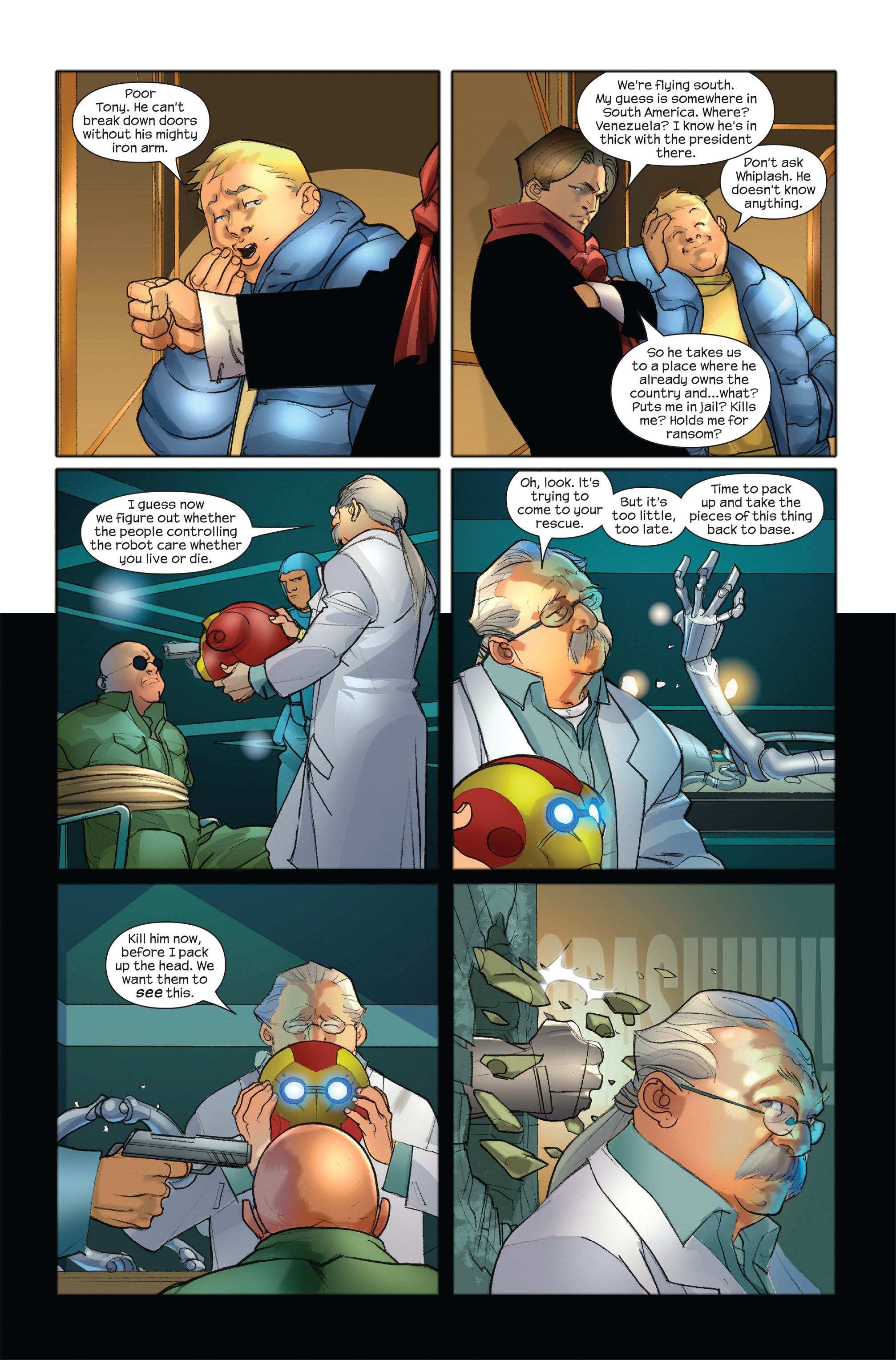 Read online Ultimate Iron Man II comic -  Issue #3 - 21
