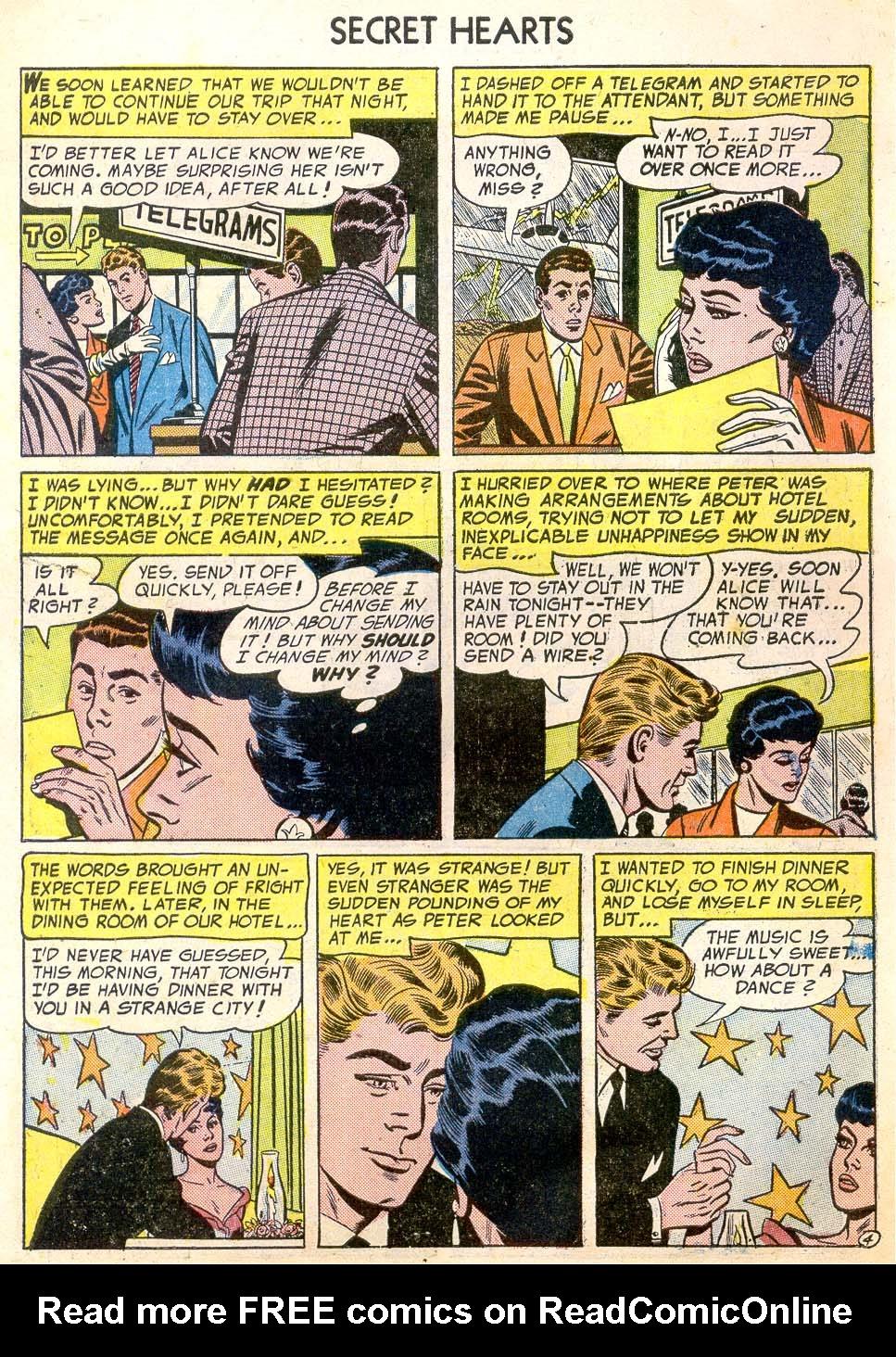 Read online Secret Hearts comic -  Issue #26 - 6